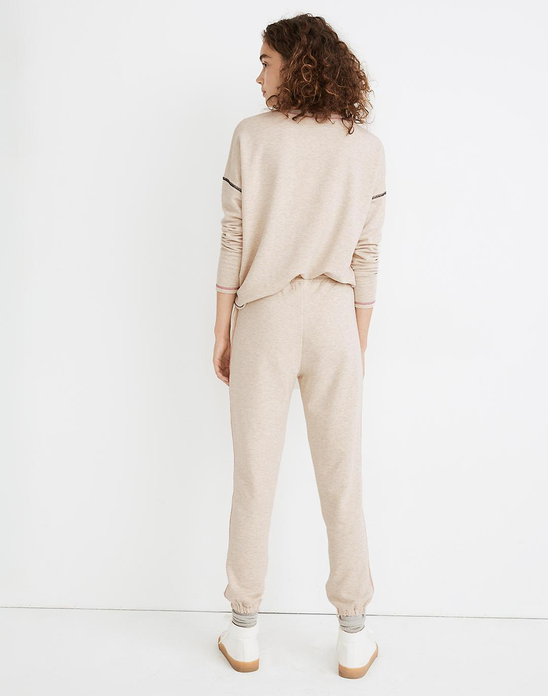 MWL Superbrushed Contrast-Stitched Easygoing Sweatpants 2