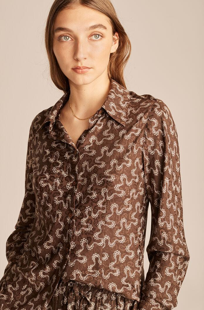 CHANTILLY WAVE BUTTON DOWN