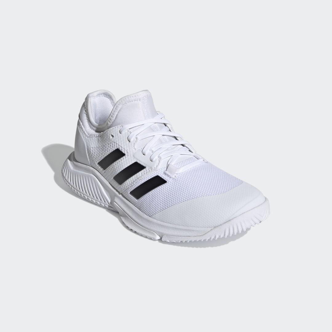 Court Team Bounce Indoor Shoes White