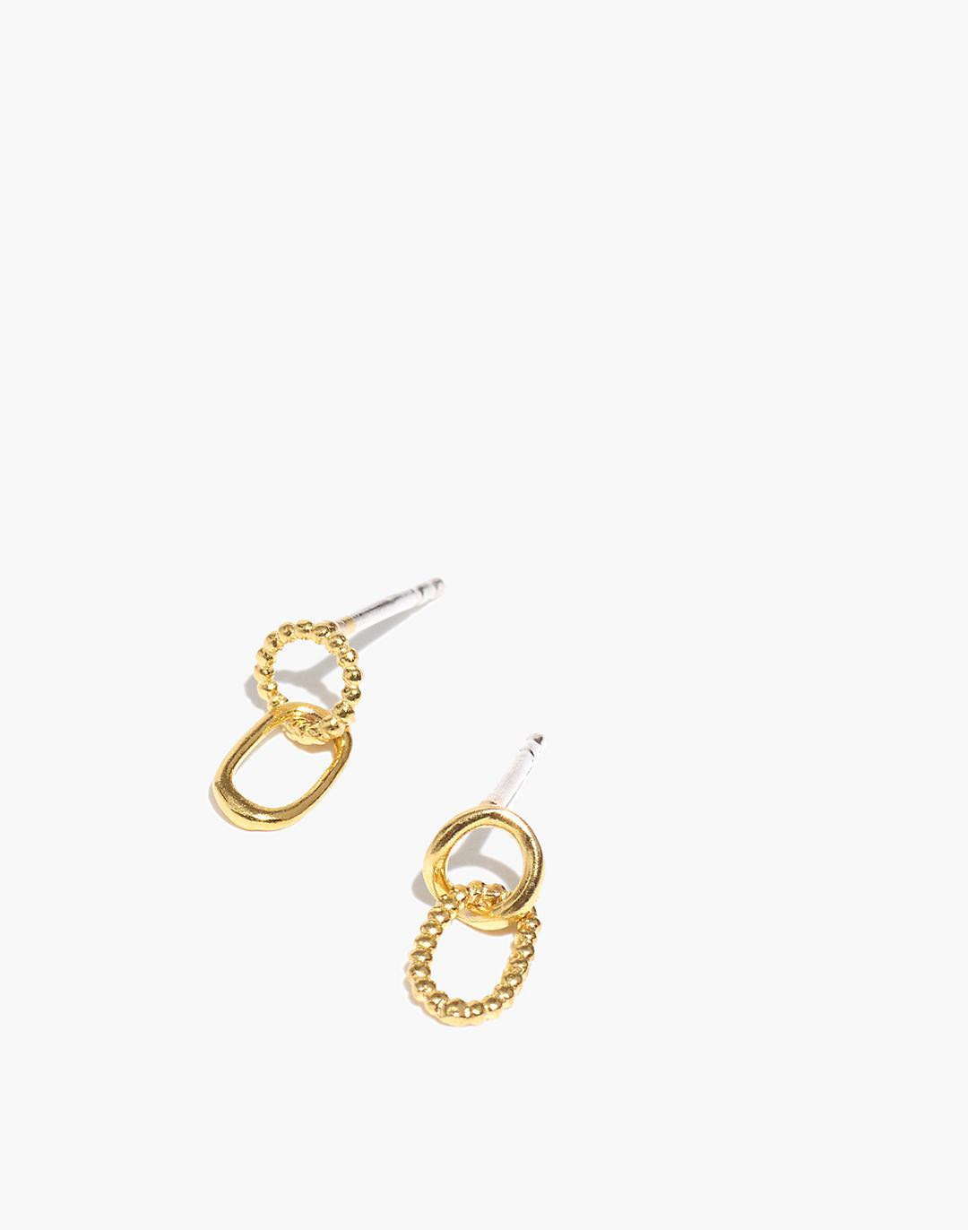 Delicate Collection Demi-Fine Bonded Pair Earrings