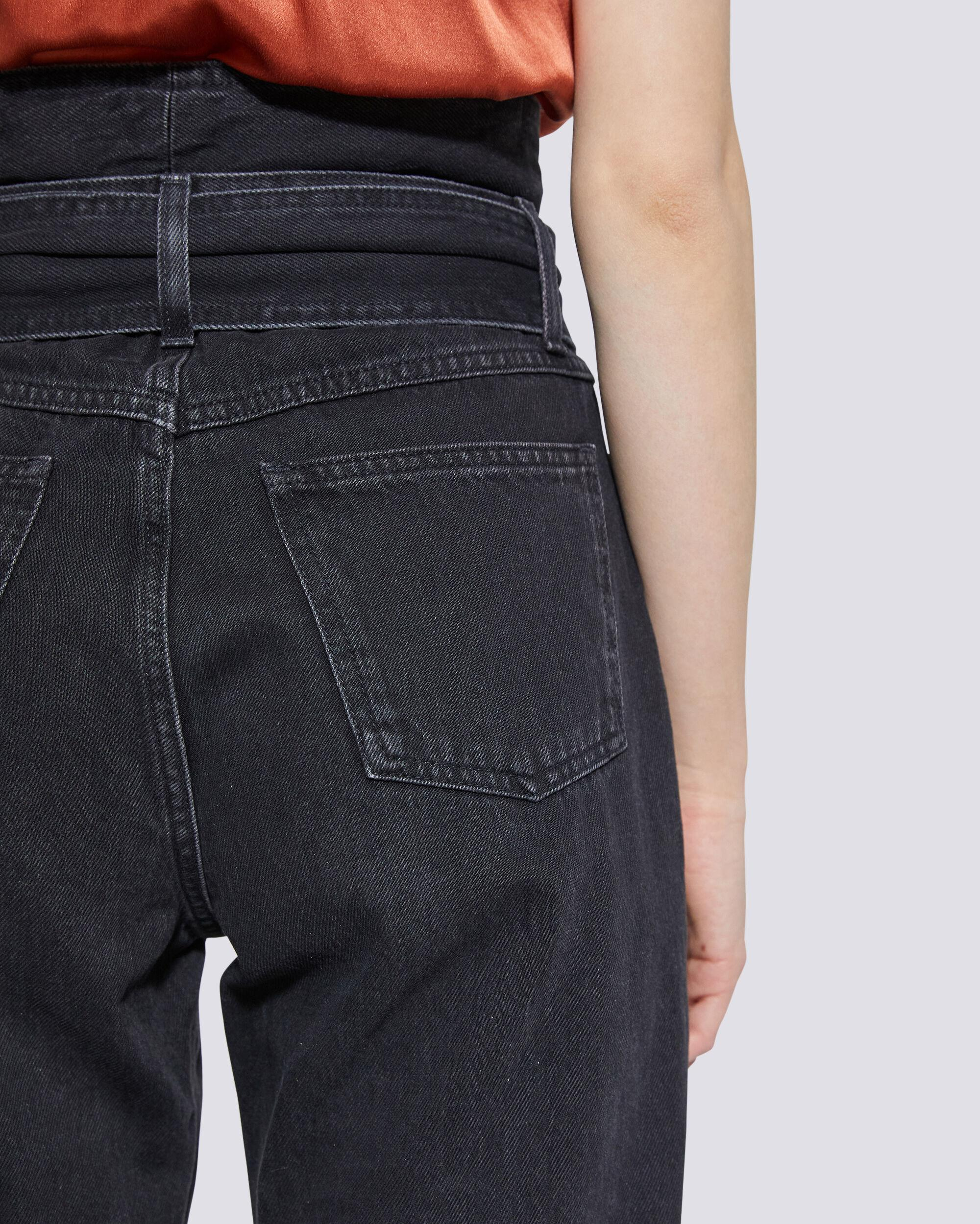 OUZILLY PAPERBAG HIGH WAIST JEANS 4