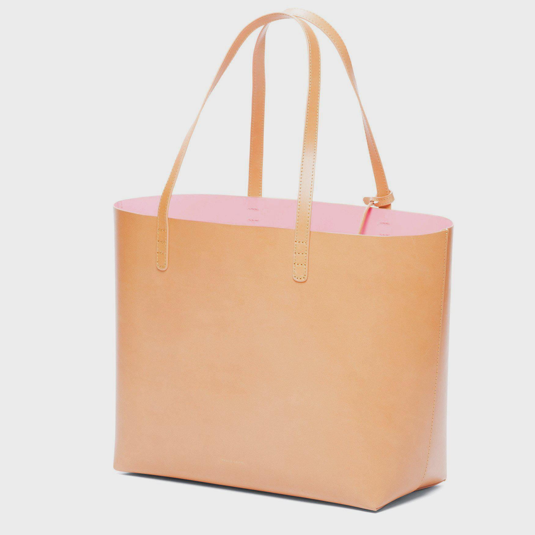 Large Tote - Cammello/Rosa 1