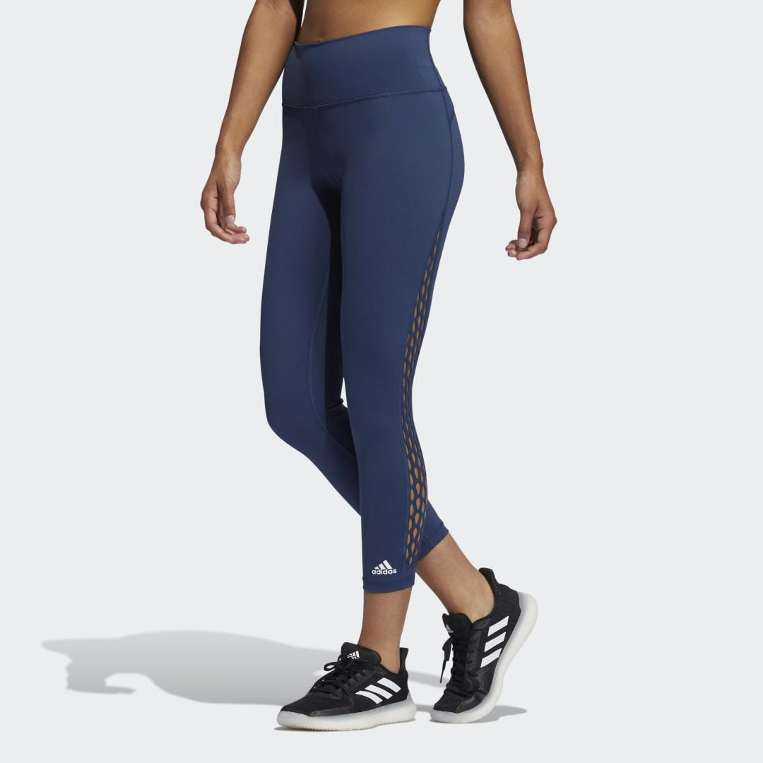 Believe This 2.0 Lace-Up 7/8 Tights Crew Navy