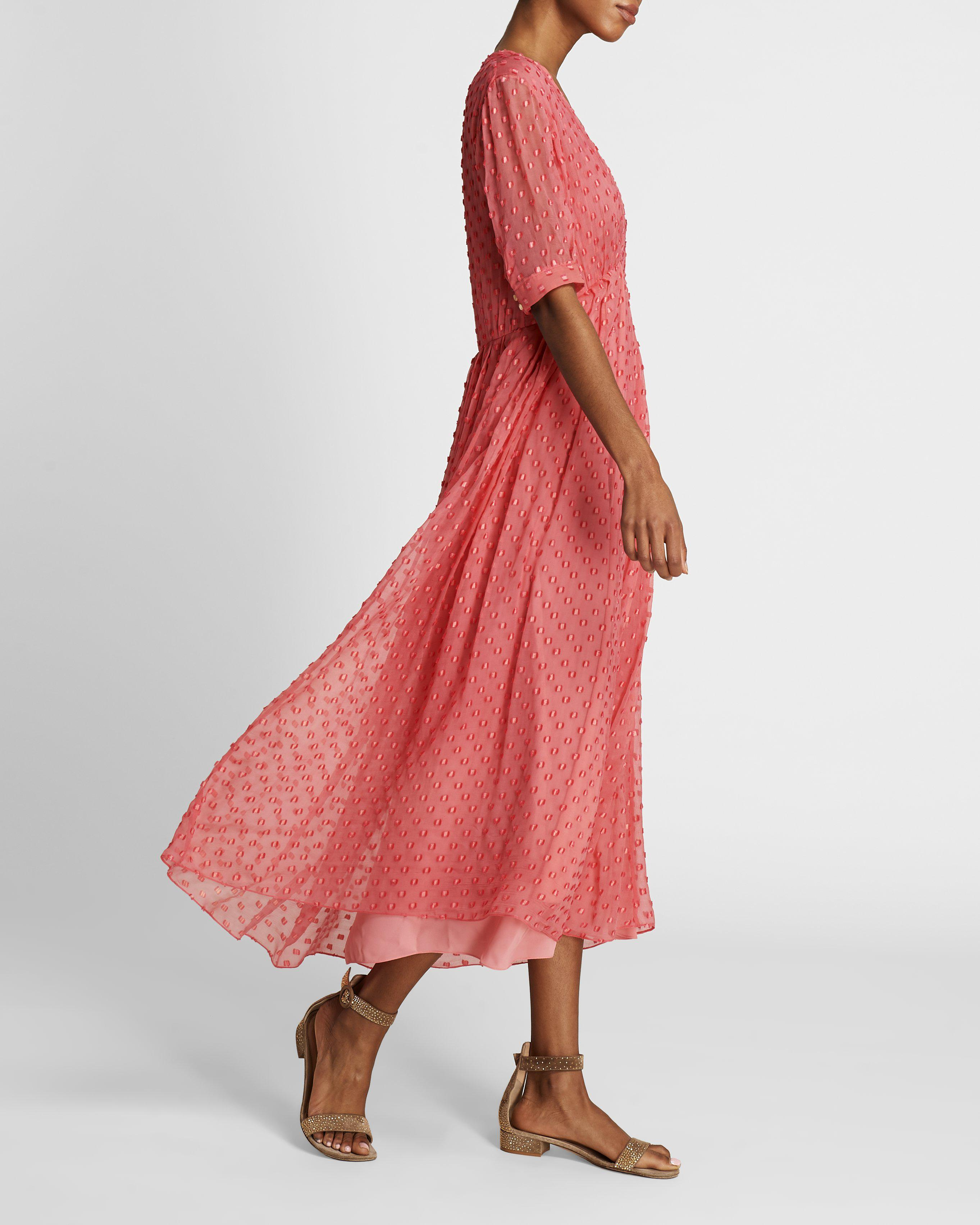 The Ivy Dress   Coral 3