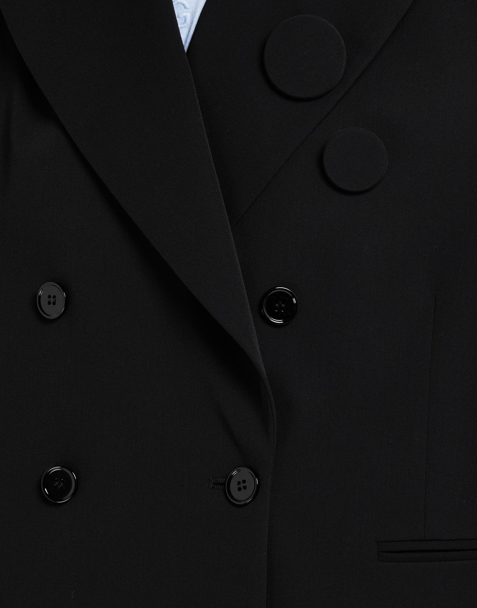 Badge double-breasted blazer 5