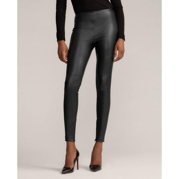 Eleanora Stretch Leather Pant 0