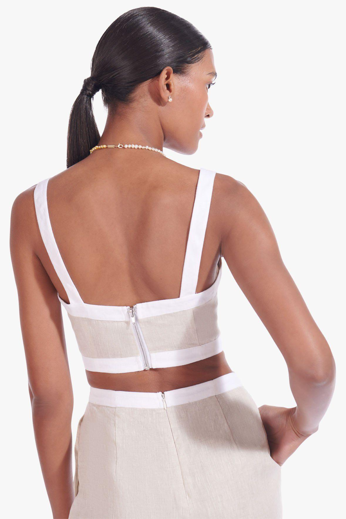 SHELLY JUMPSUIT | NATURAL WHITE 7