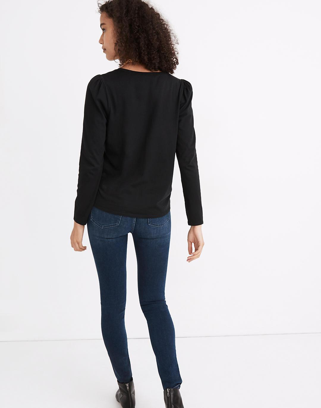 (Re)sourced Cotton Puff-Sleeve Tee 2