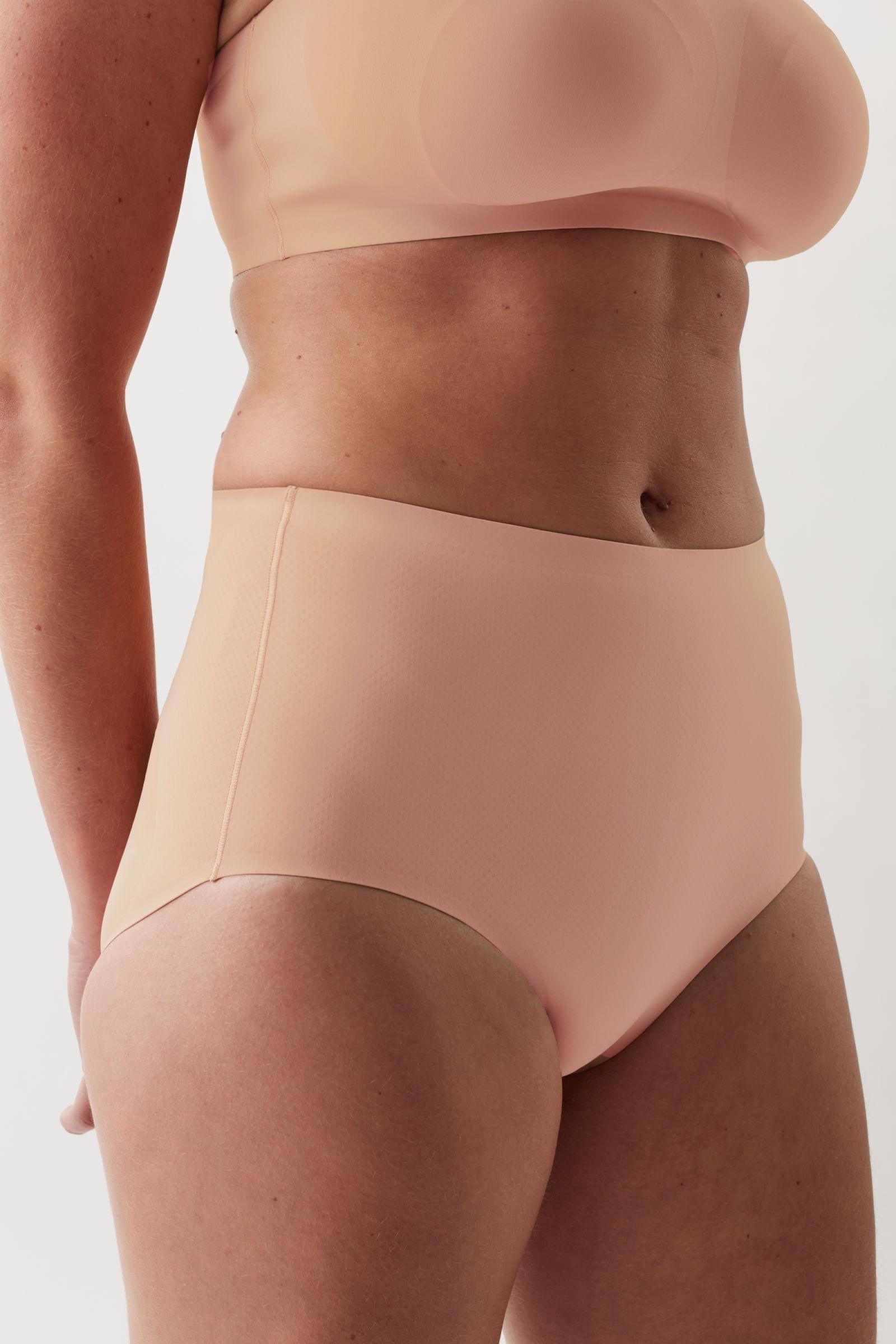 CONTROL HIGH-WAISTED RECYCLED NYLON BRIEFS 1