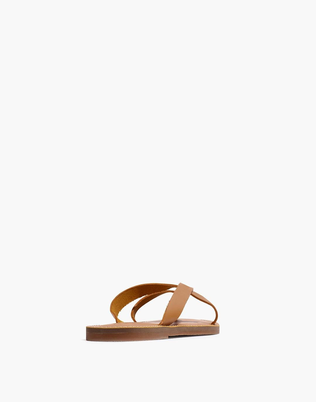 The Boardwalk Thong Sandal in Leather 2