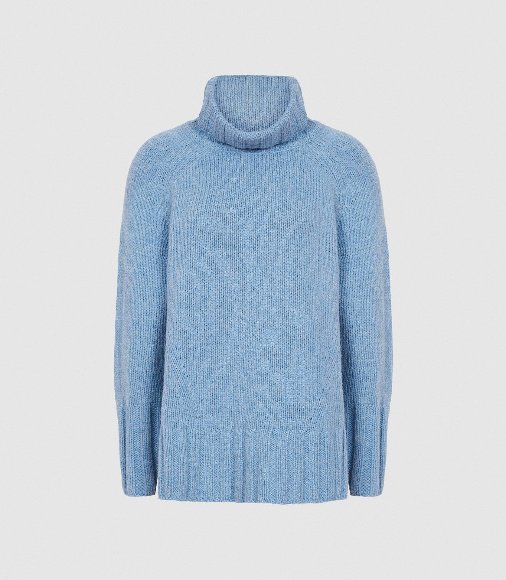 EVE - WOOL CASHMERE BLEND ROLL NECK 5