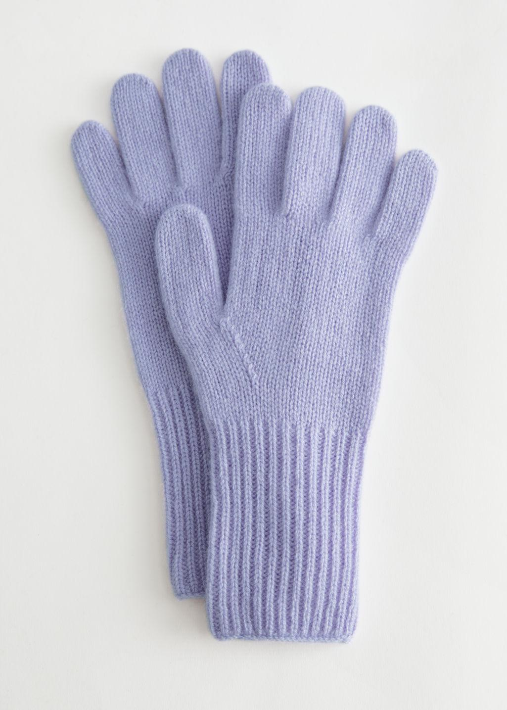 Knitted Cashmere Gloves