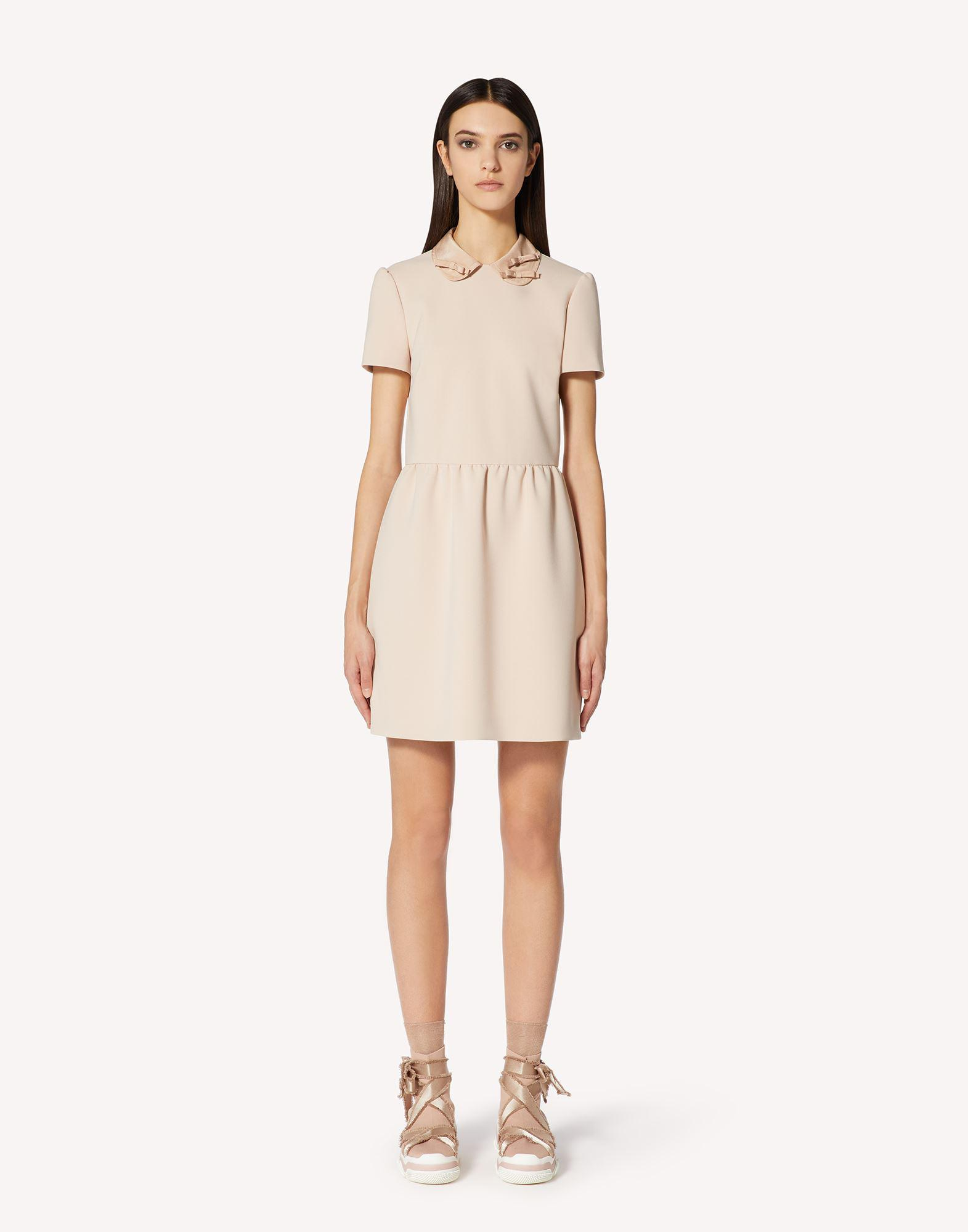 CADY TECH DRESS WITH BOW DETAILS