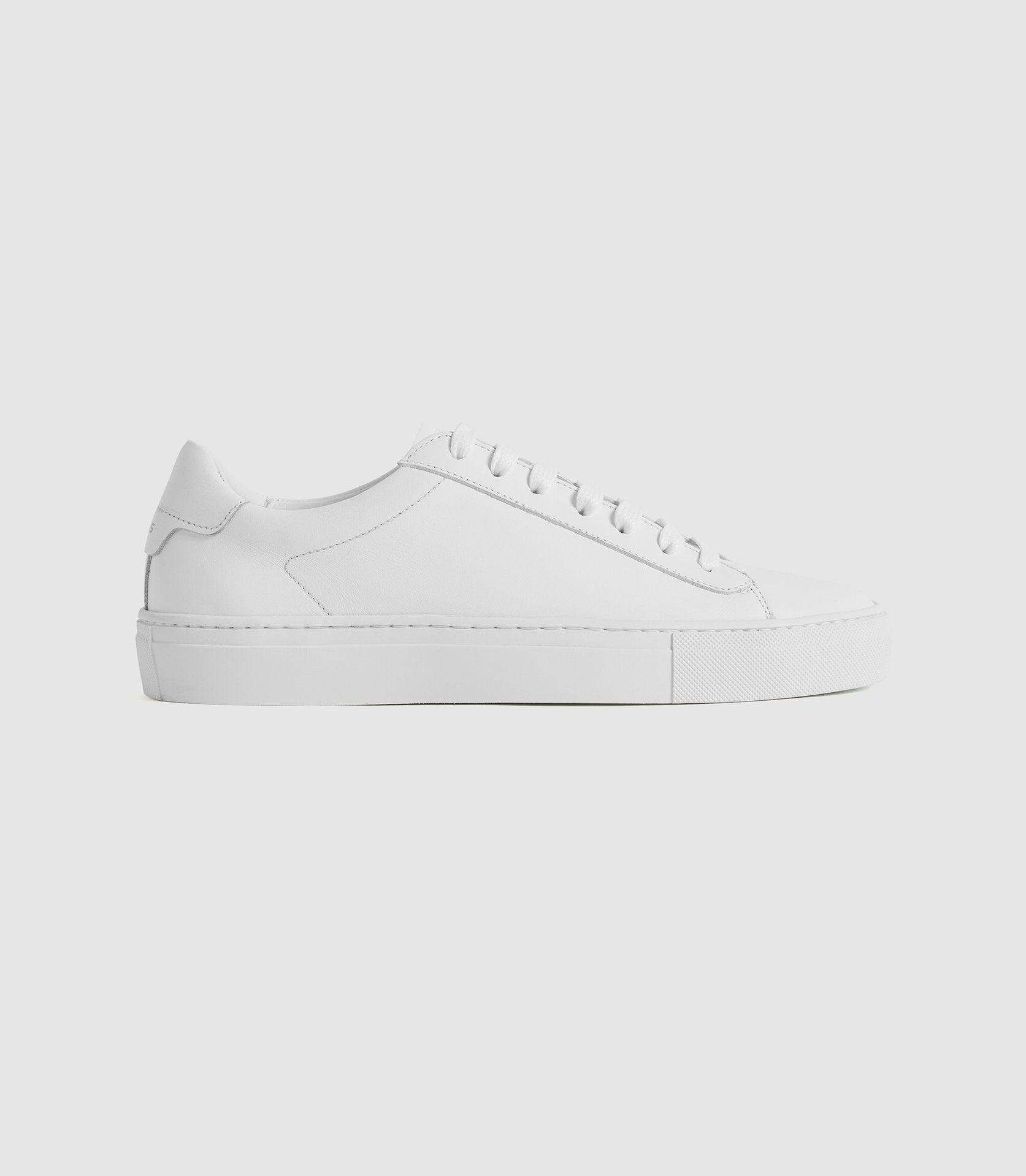 FINLEY - LEATHER TRAINERS