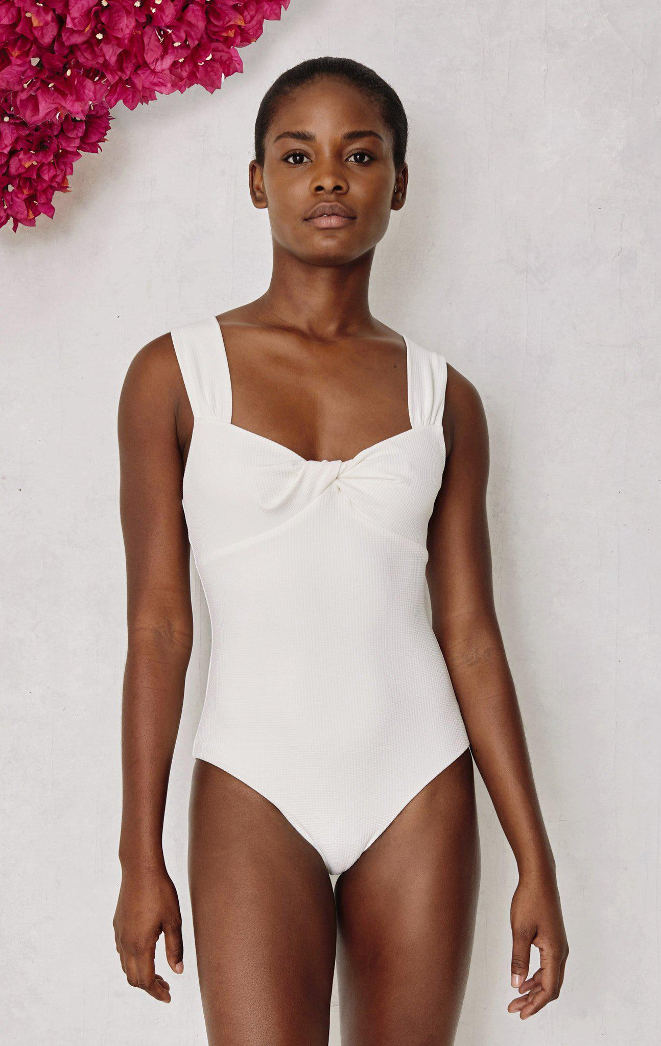 Lehi Maillot in Coconut