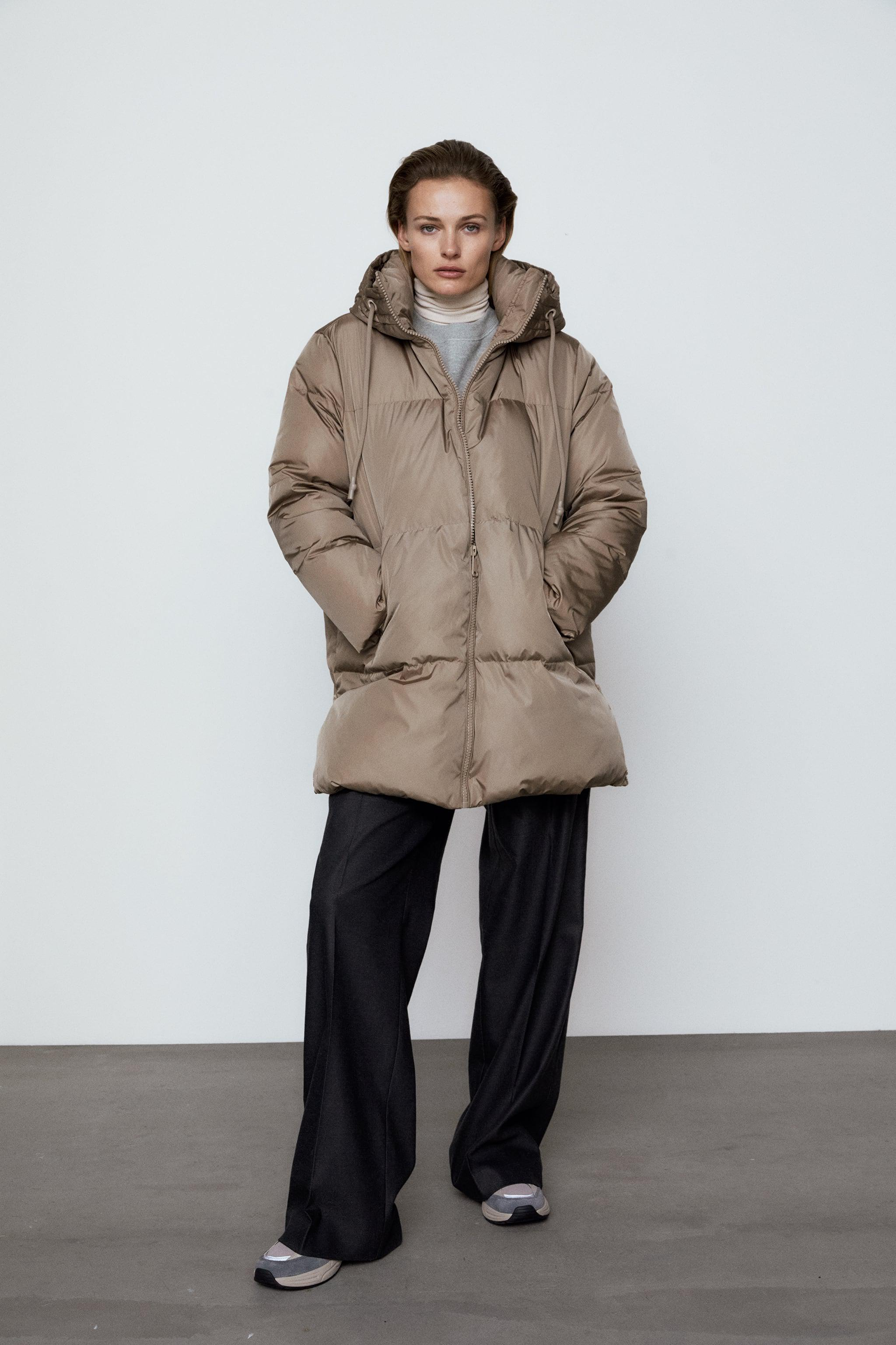 WATER AND WIND PROTECTION OVERSIZED DOWN COAT