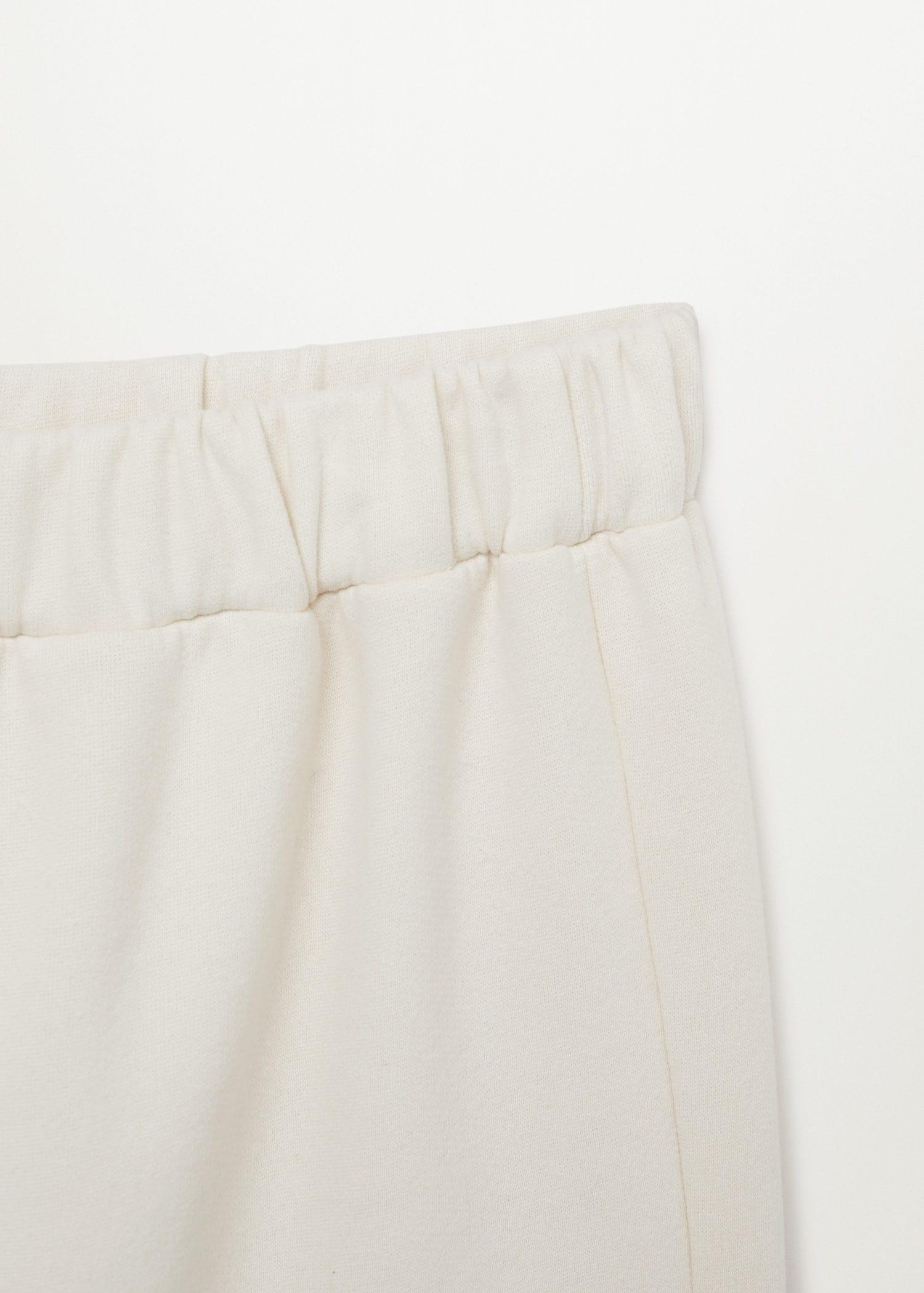 Cotton jogger-style trousers 7