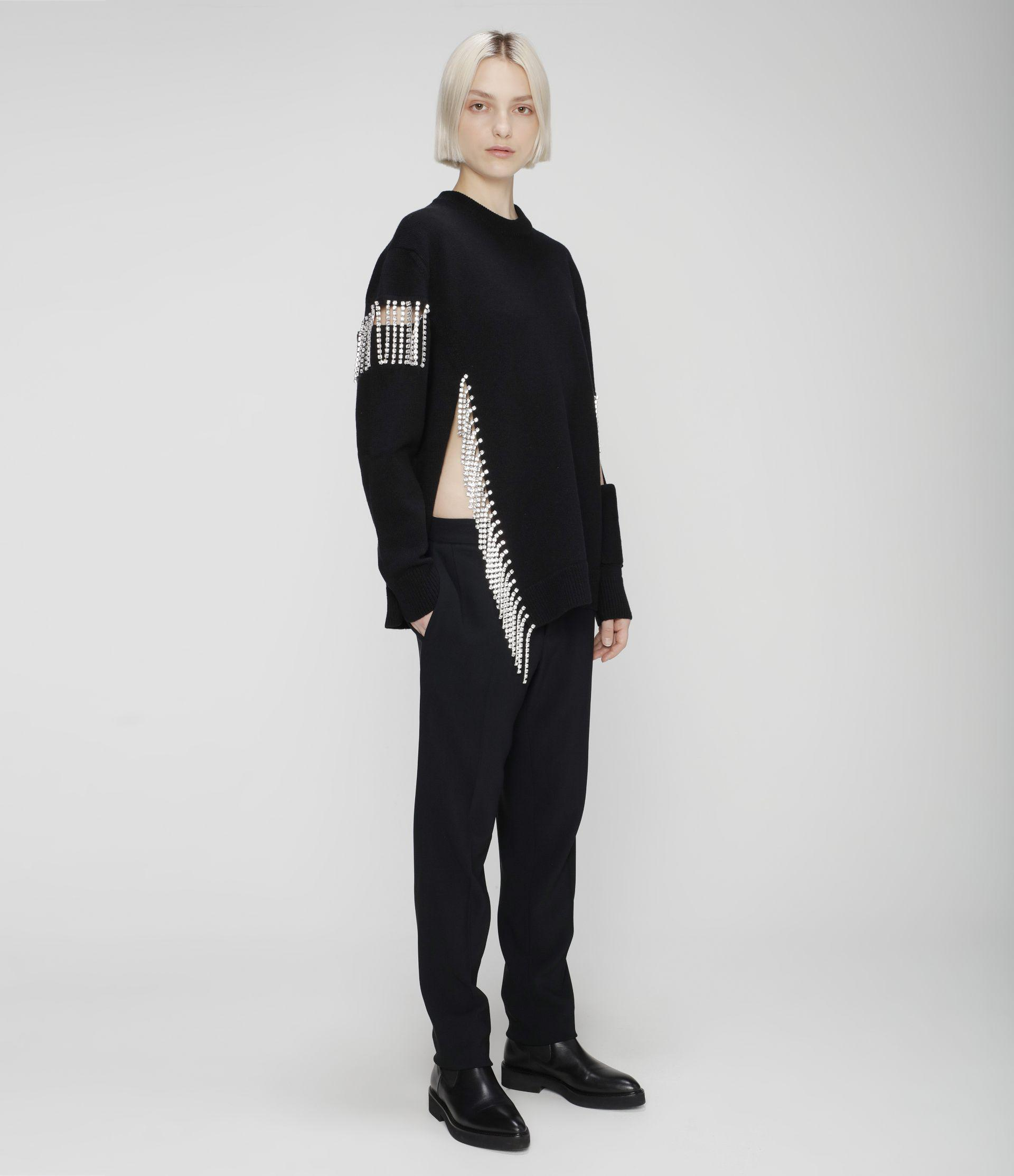 cut-out cupchain knitted sweater 3