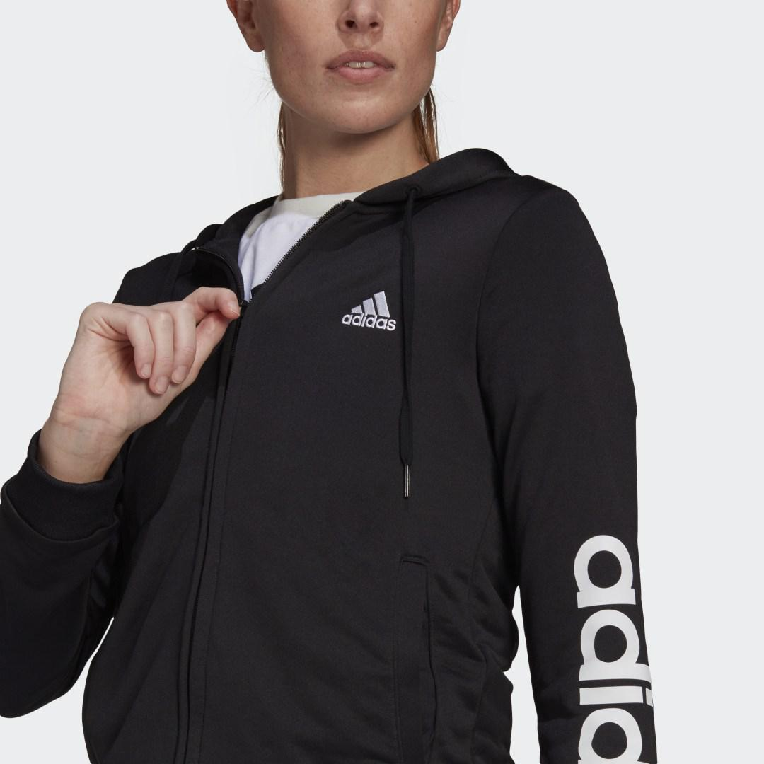 Essentials Logo French Terry Track Suit Black 2