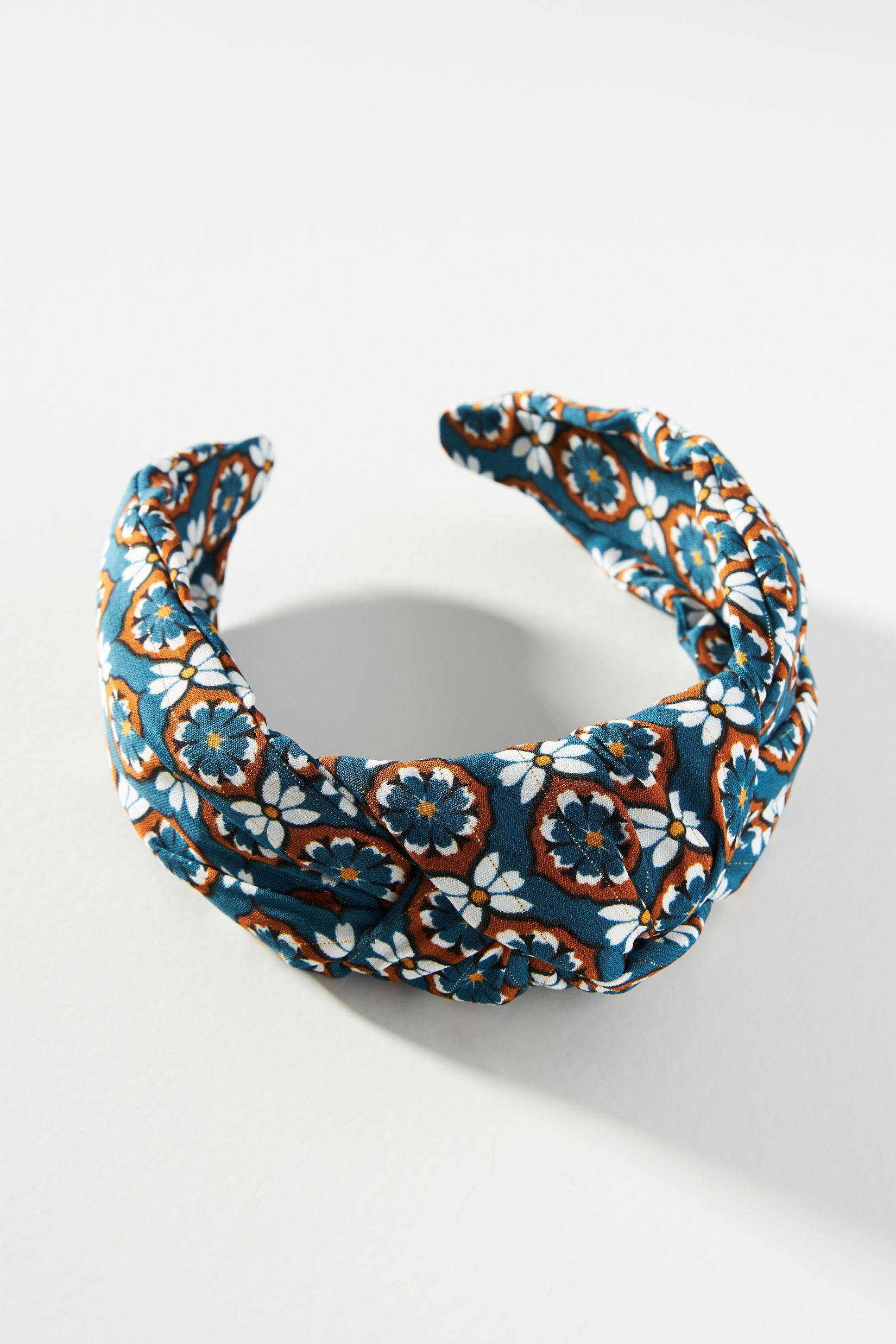 Tile-Printed Knotted Headband