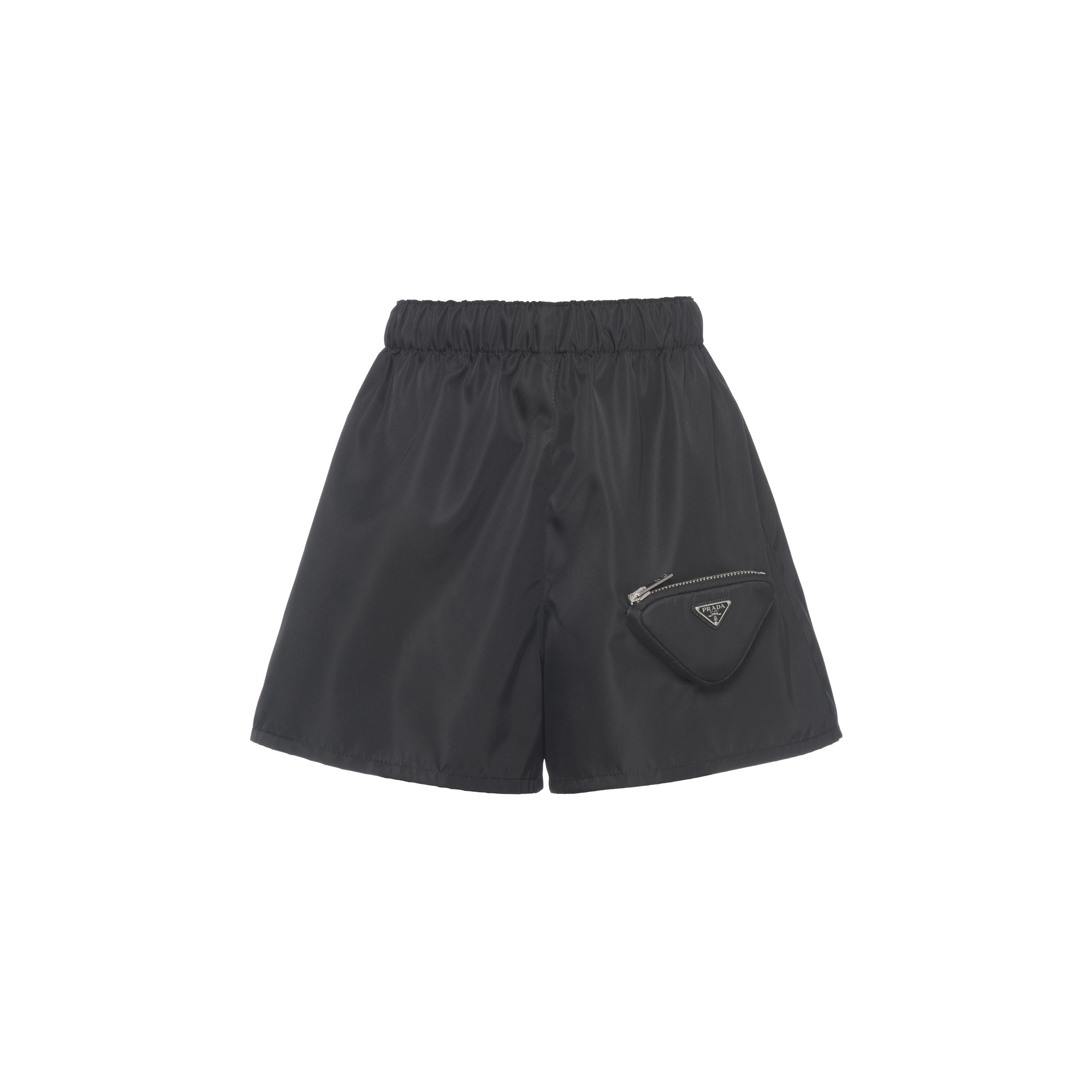 Re-nylon Shorts With Pouch Women Black