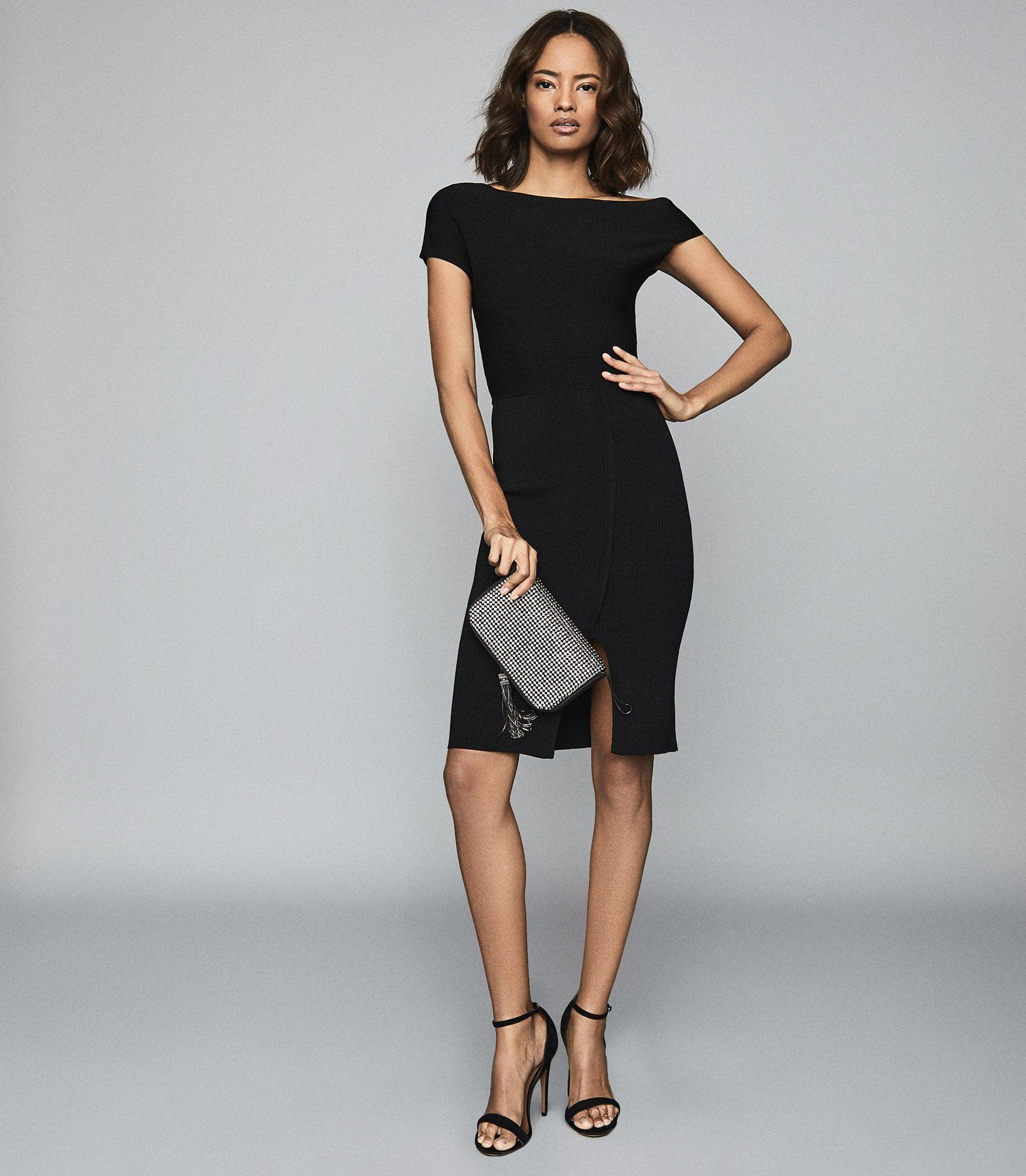 LAVINIA - KNITTED BODYCON DRESS