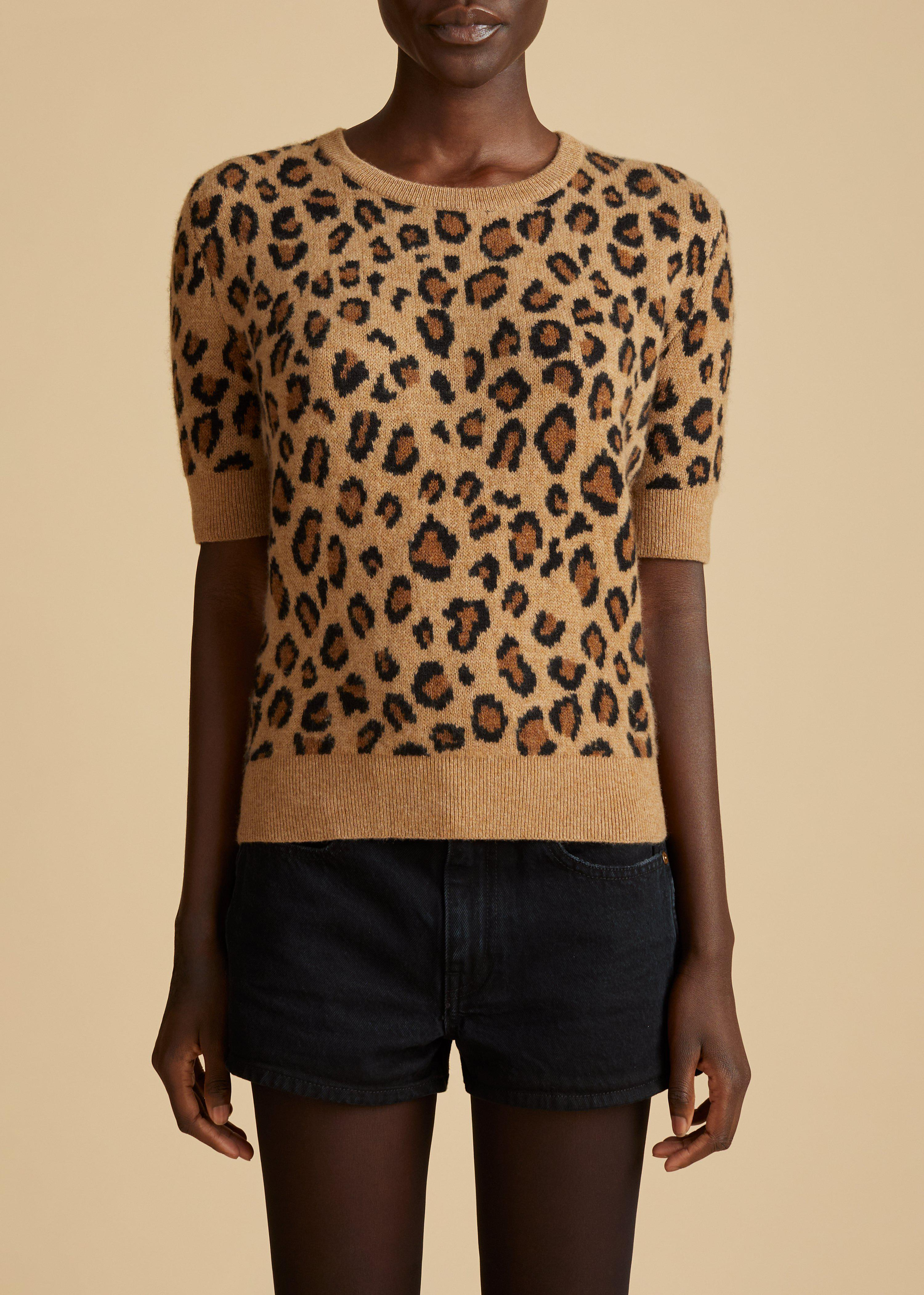 The Dianna Sweater in Cheetah