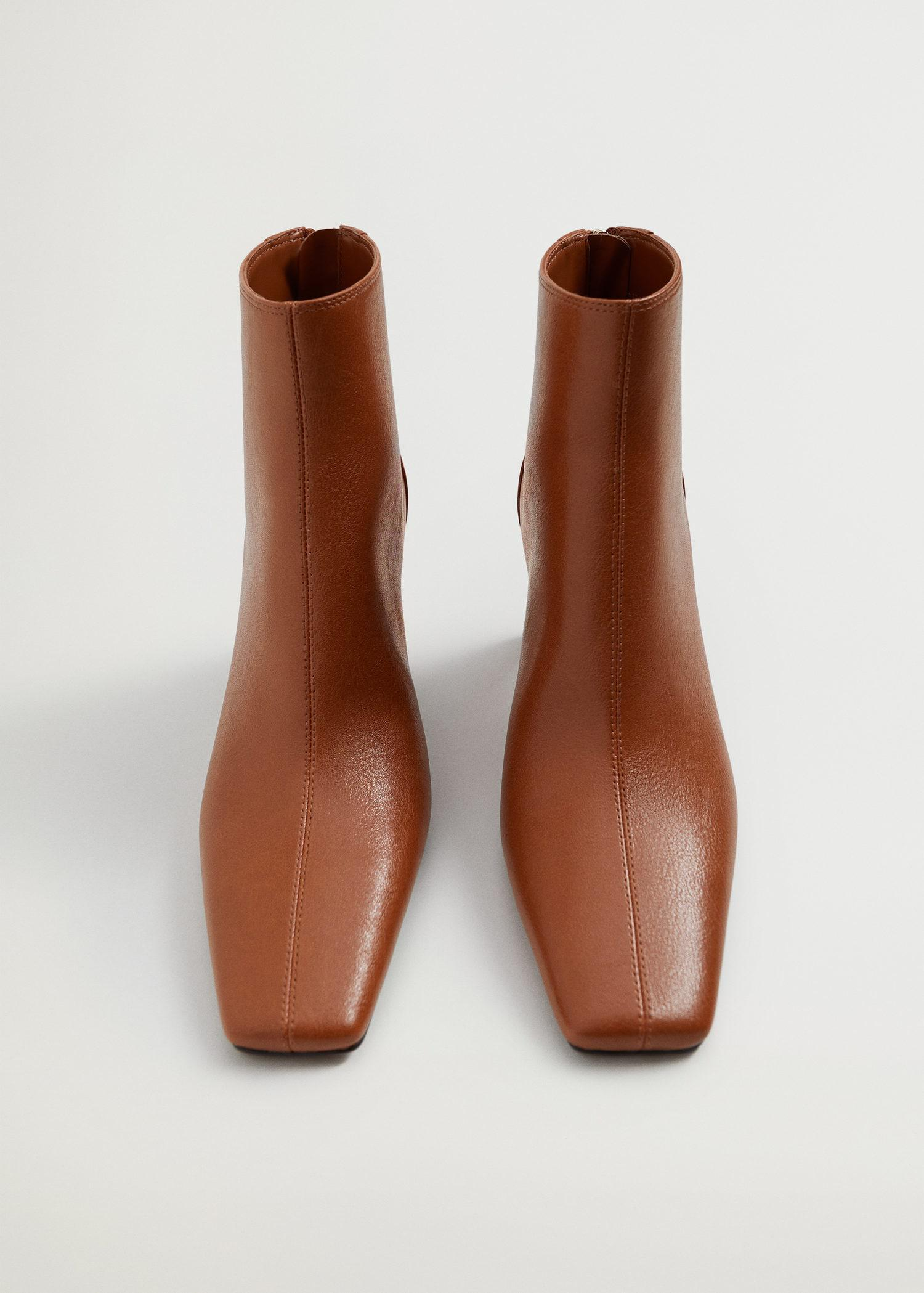 Squared-toe ankle boots 3