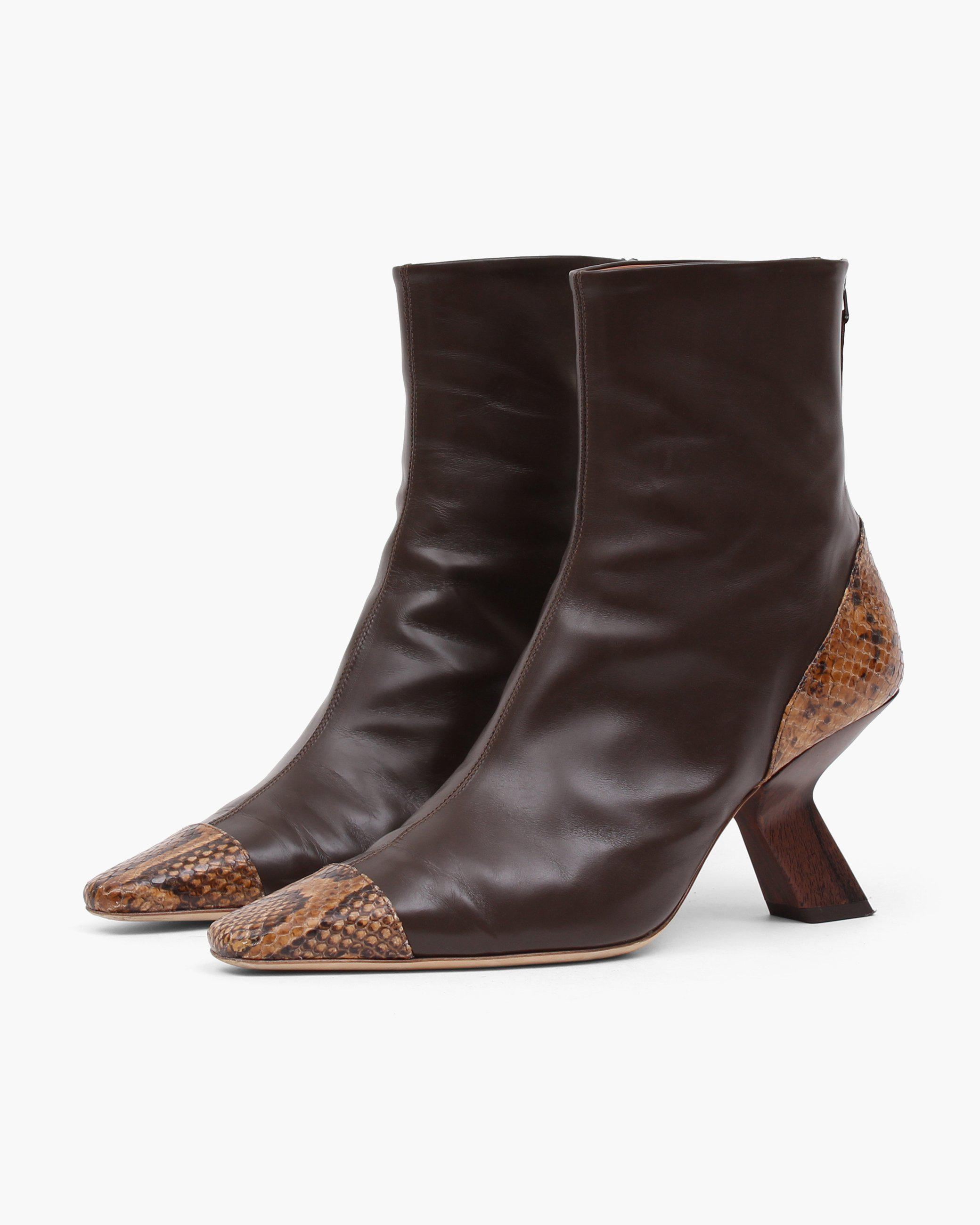 Marley Boot Leather Brown 1