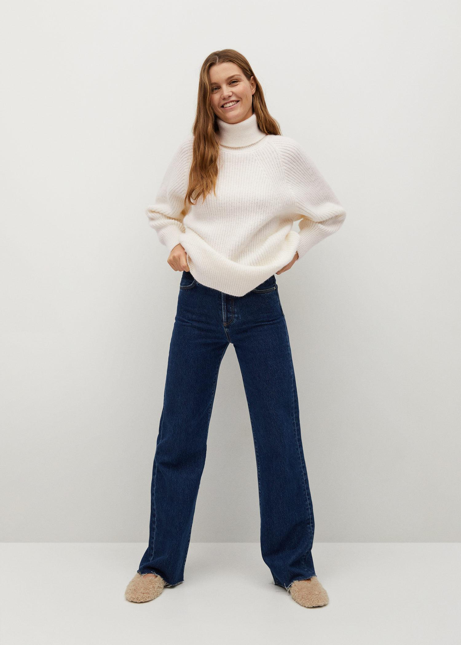 Turtleneck knitted sweater 1