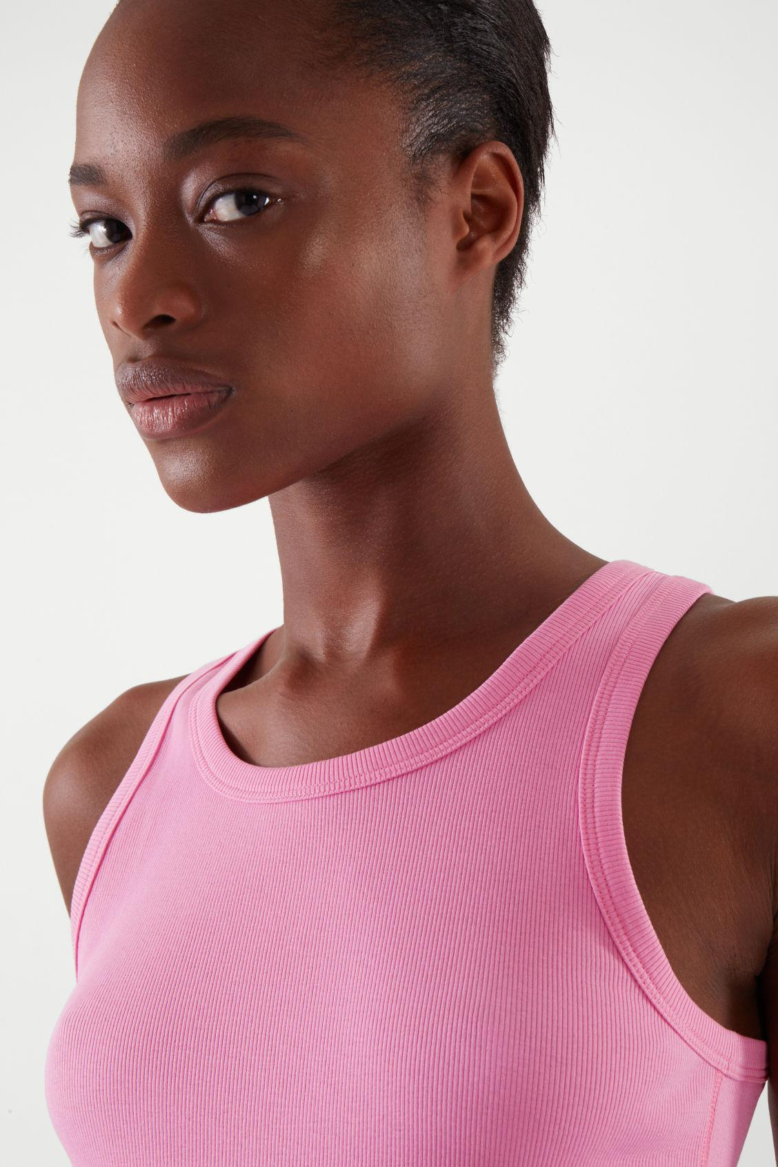 FITTED VEST TOP 1