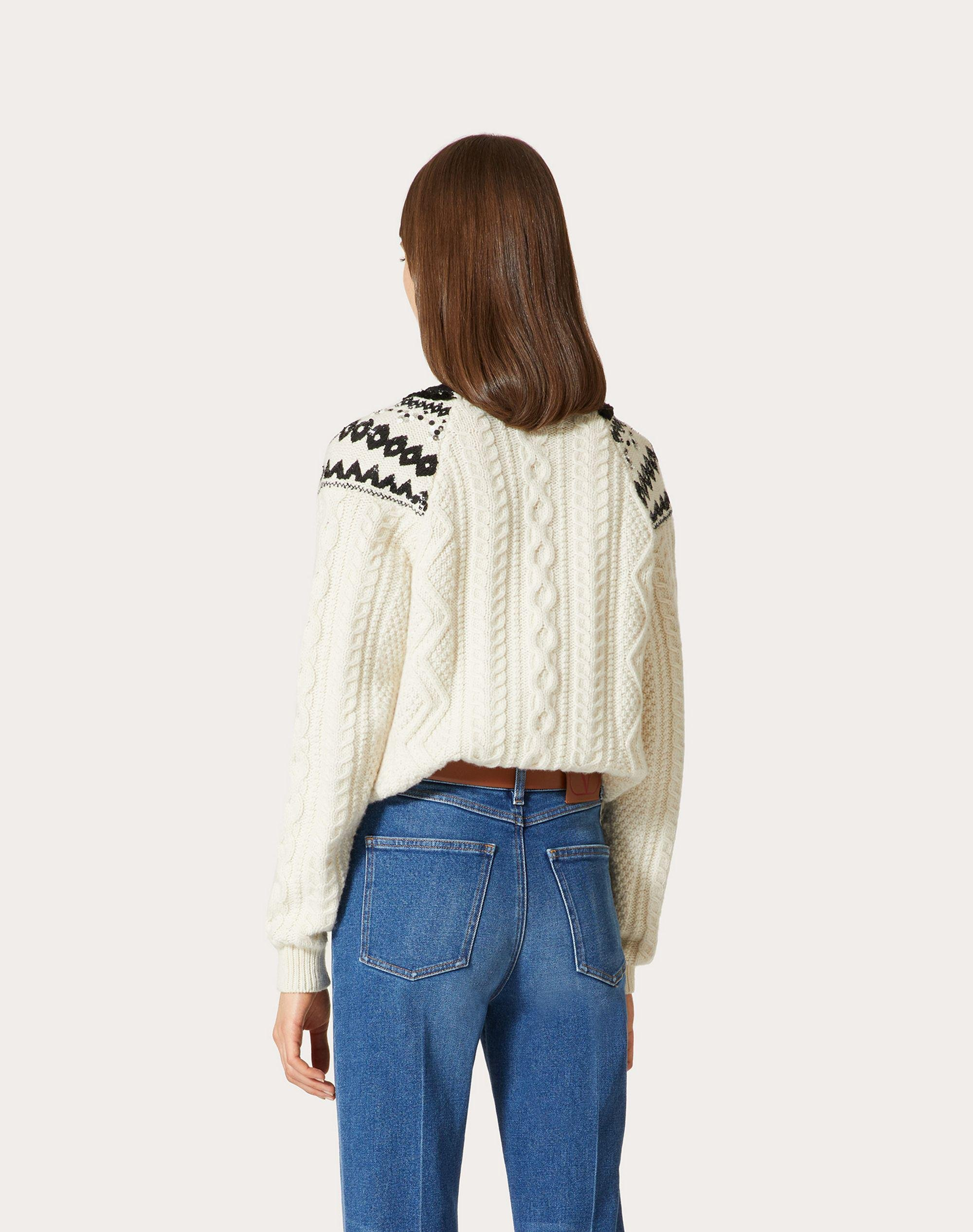 EMBROIDERED WOOL SWEATER 2