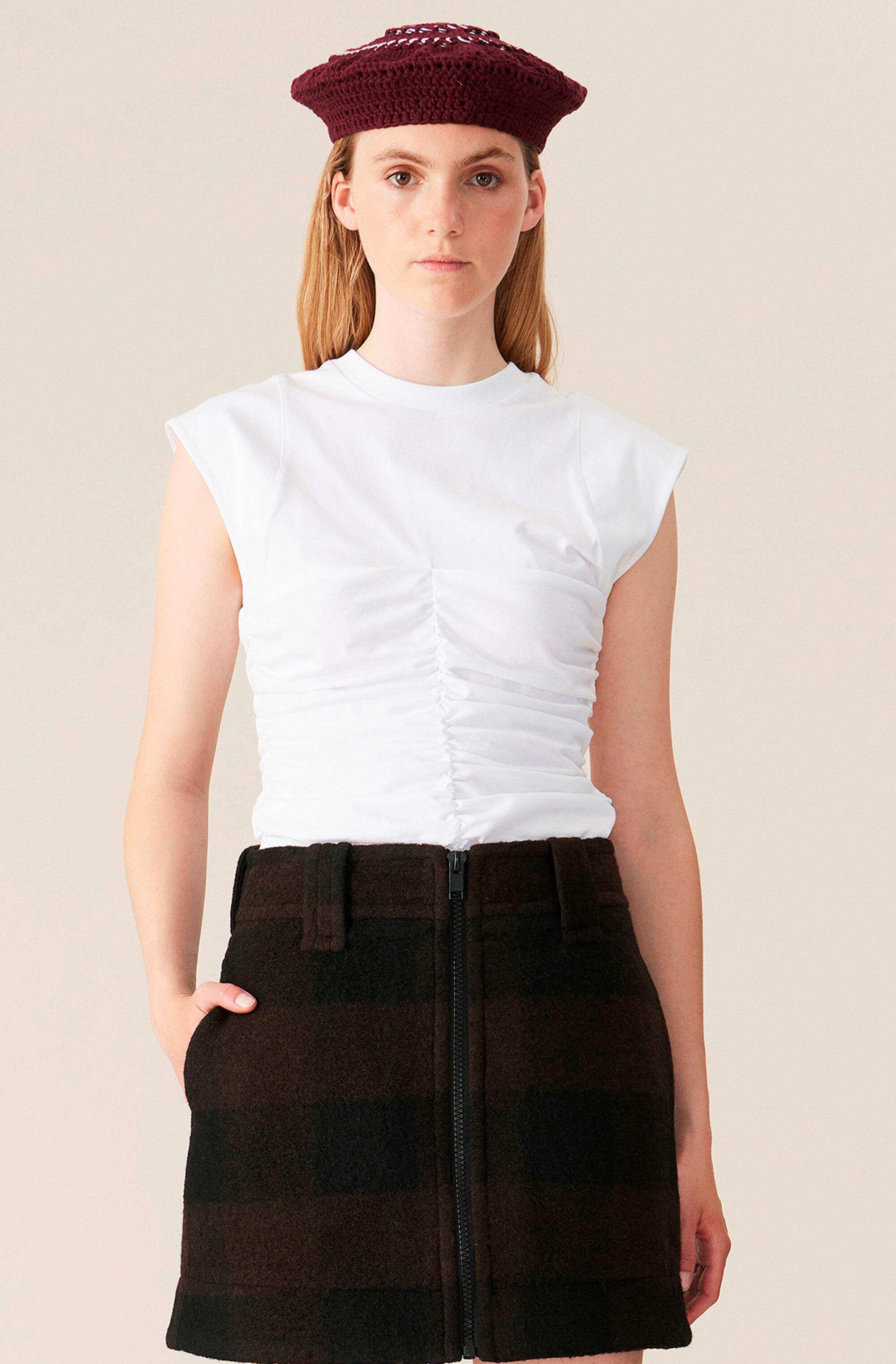 Basic Cotton Jersey Fitted Top