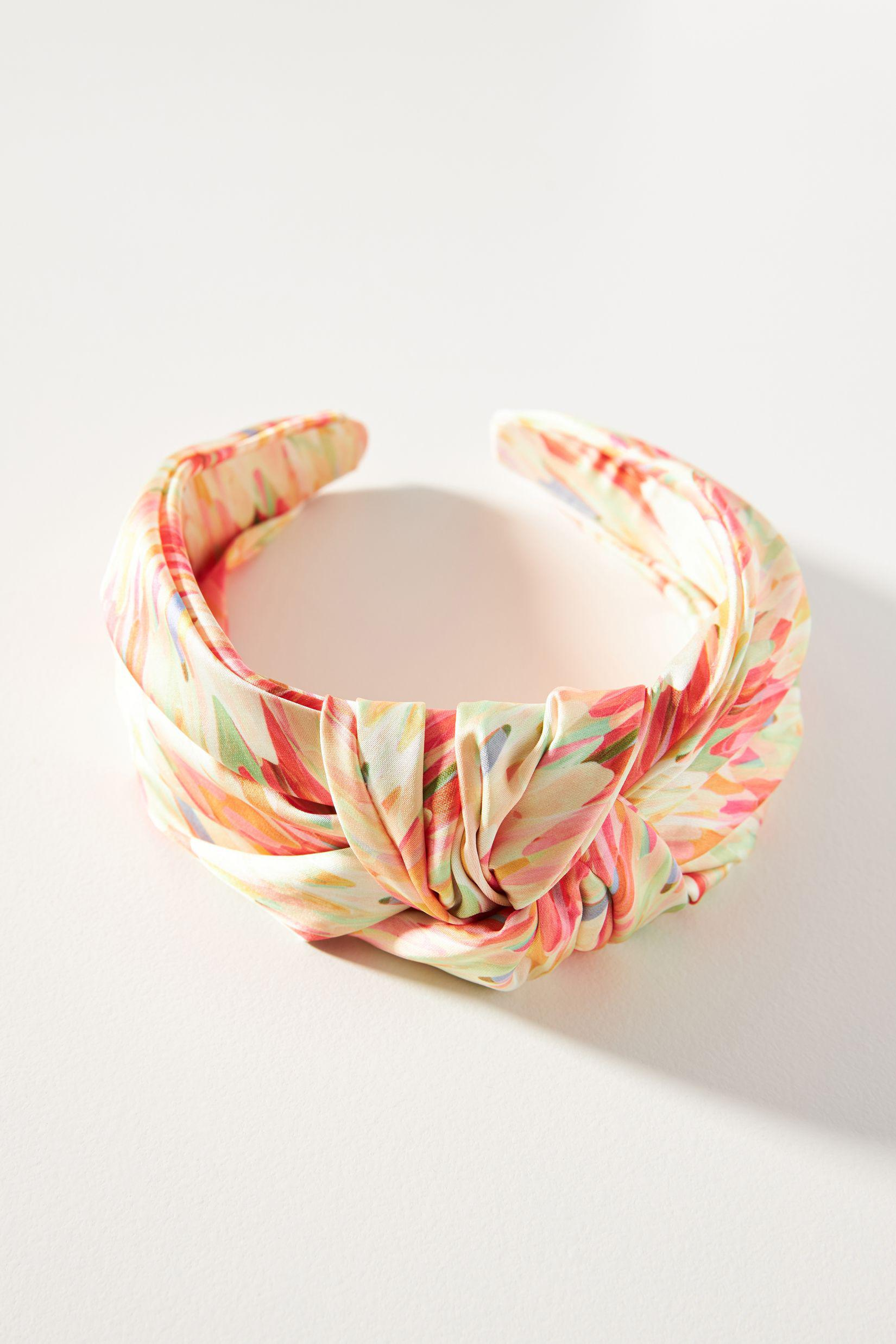Watercolor Knotted Headband