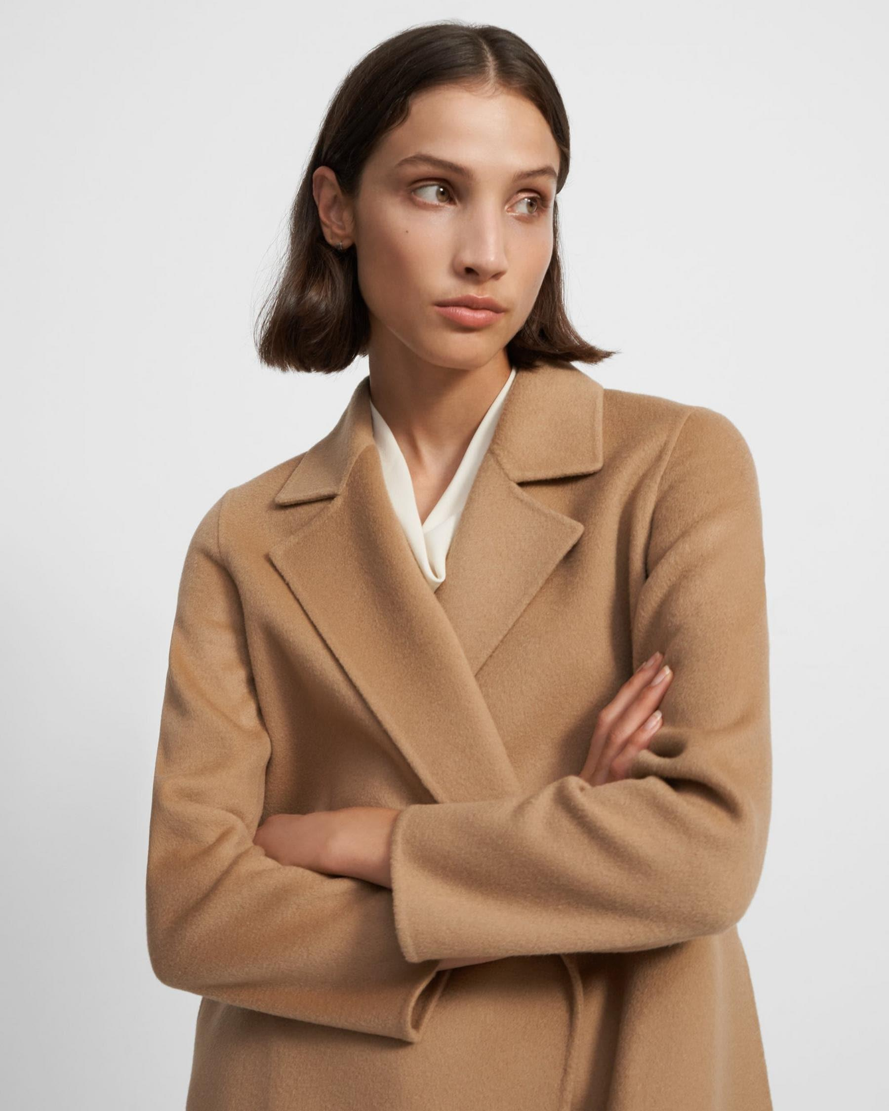 Clairene Jacket in Double-Face Wool-Cashmere 1