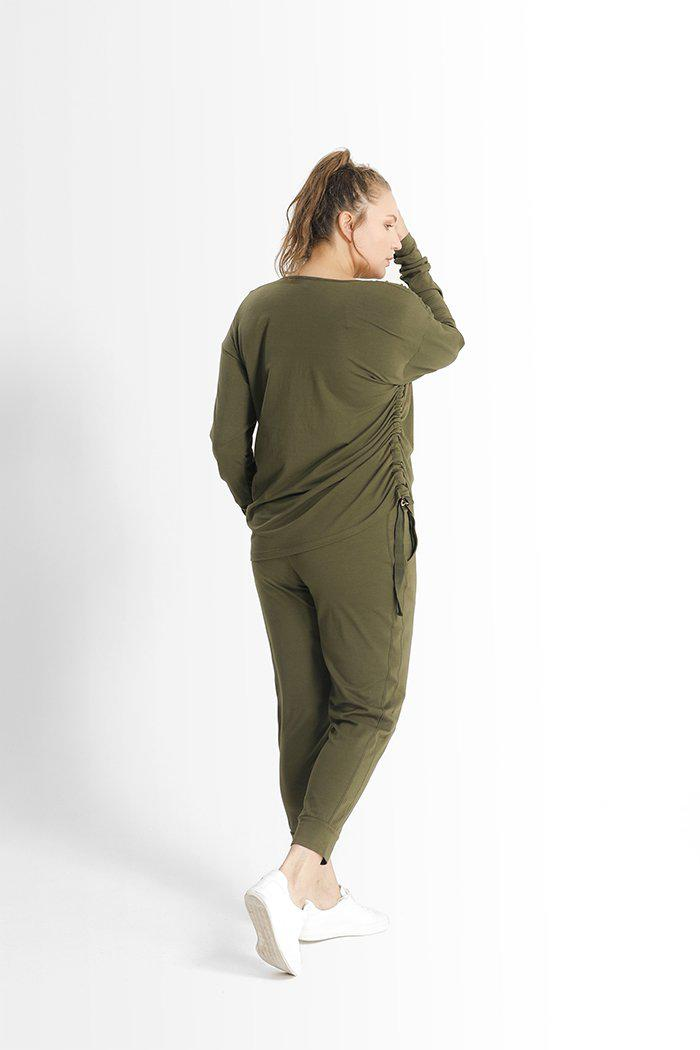 Kathy Top // Army Green 0