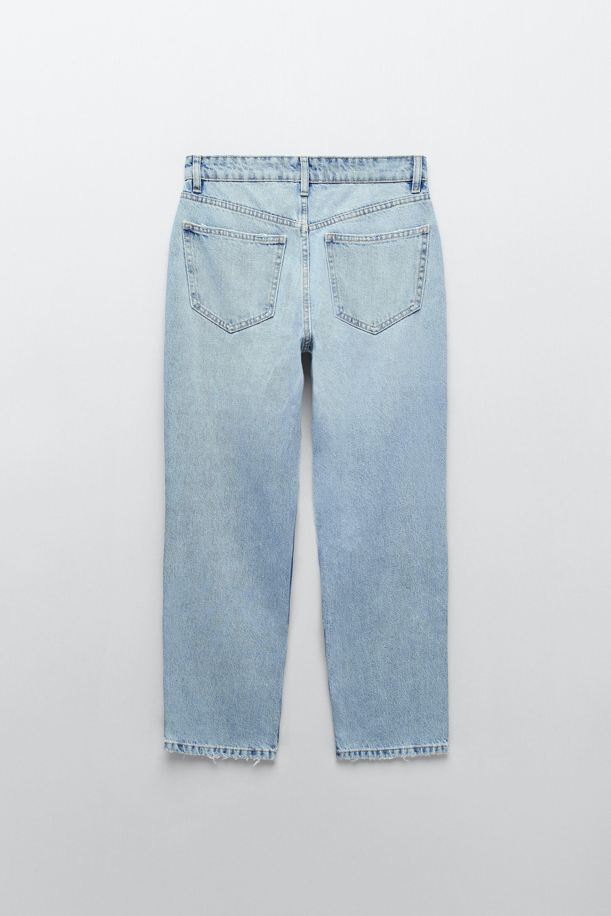 MID-RISE STRAIGHT LEG ANKLE LENGTH JEANS 6