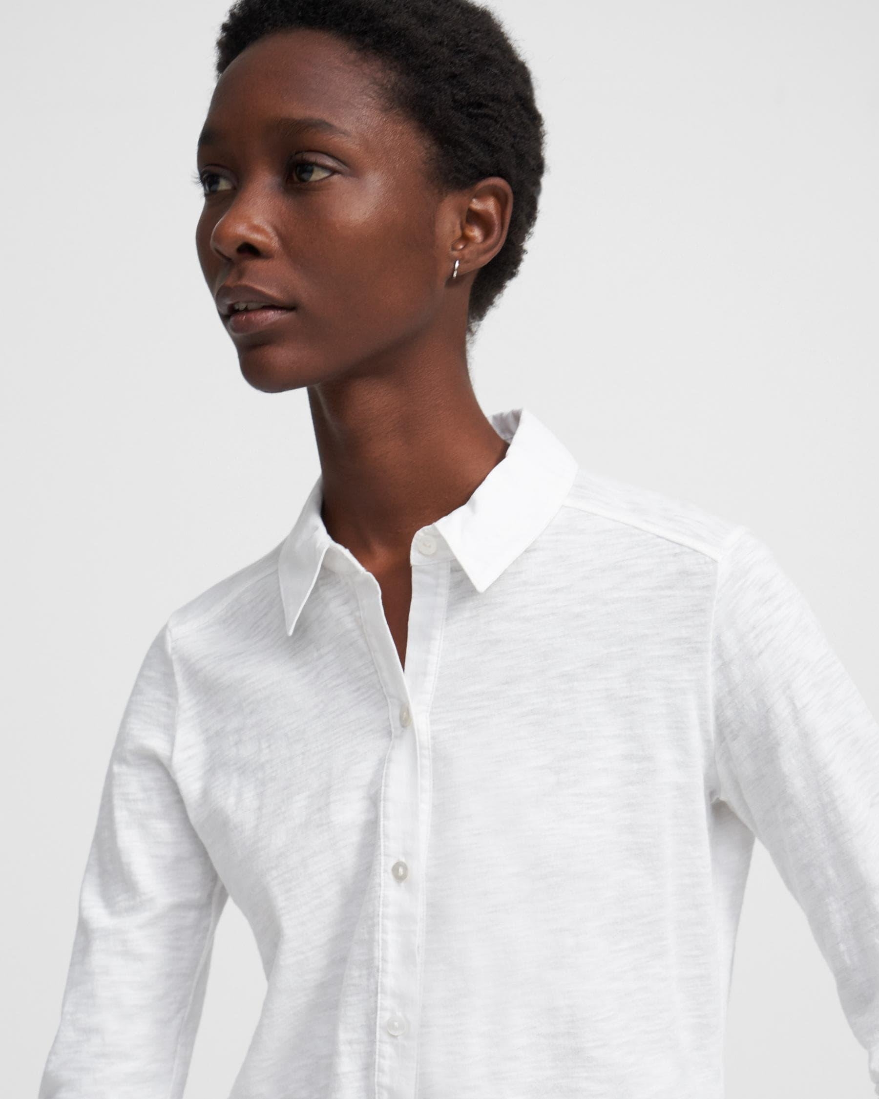 Button Up Shirt in Organic Cotton 3