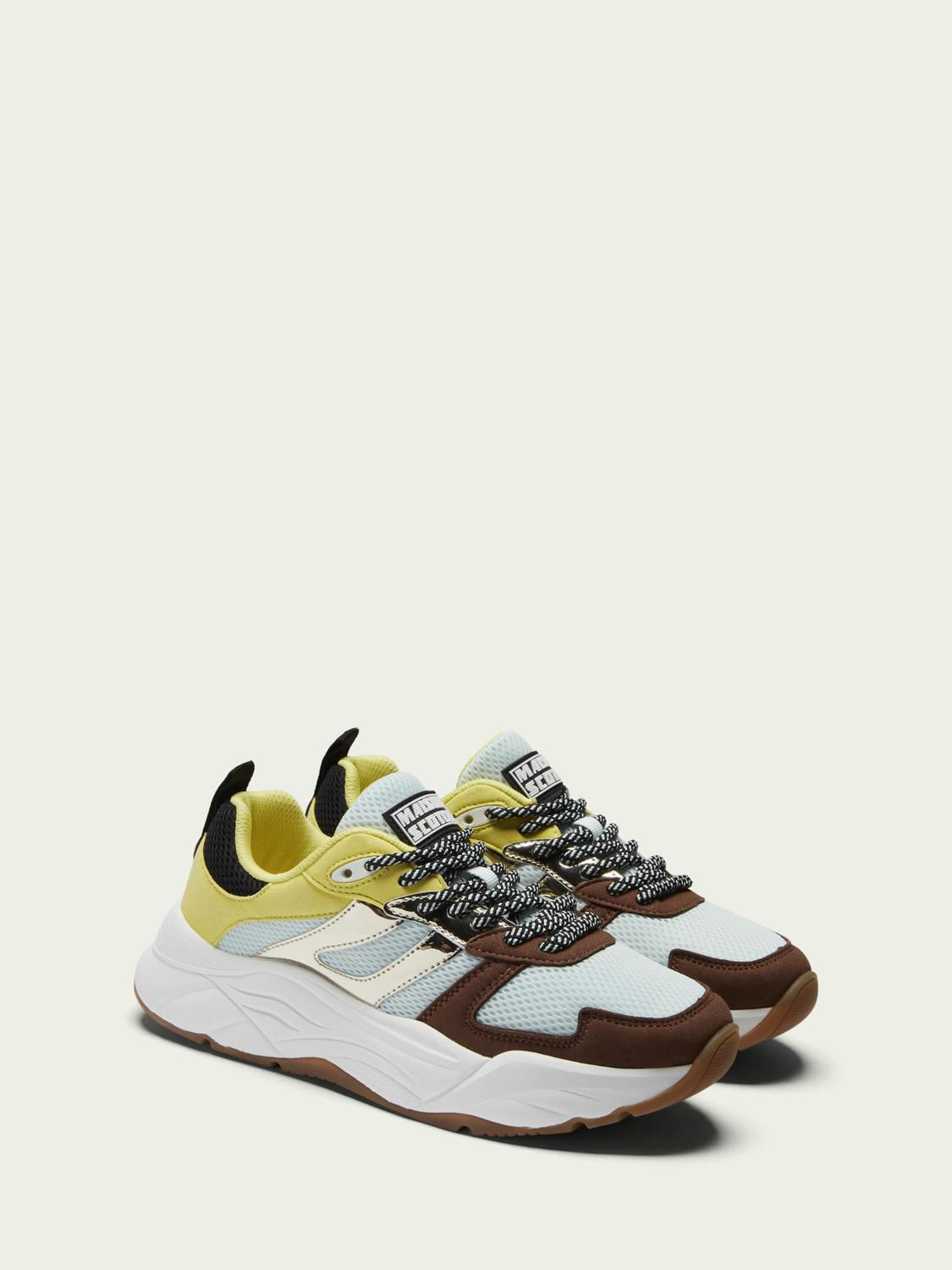 Celest lace-up sneakers 1