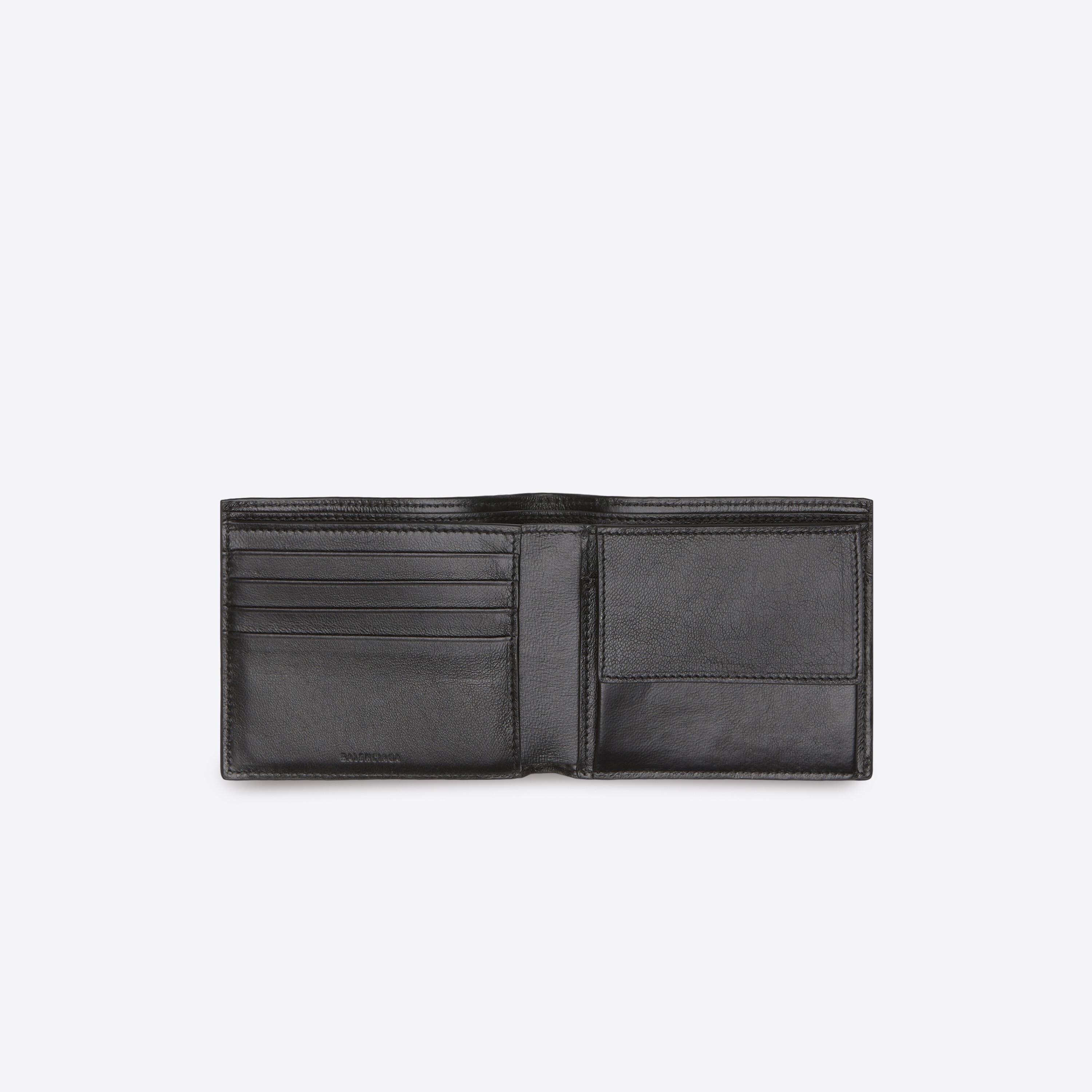 Cash Square Folded Coin Wallet 2