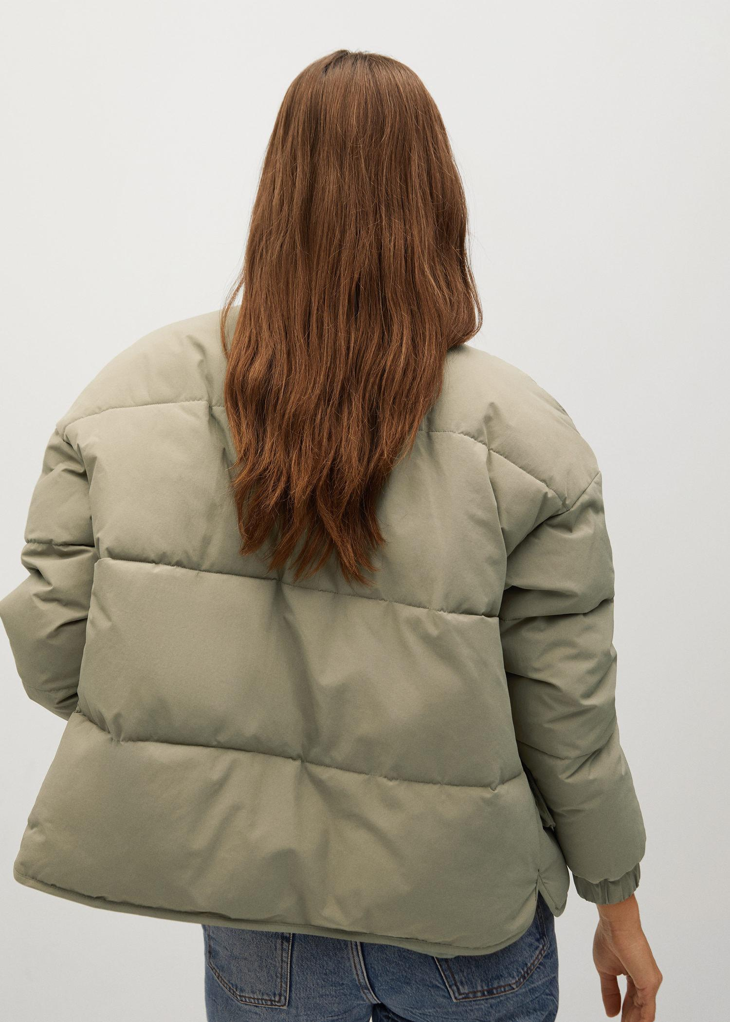 Oversize quilted coat 2
