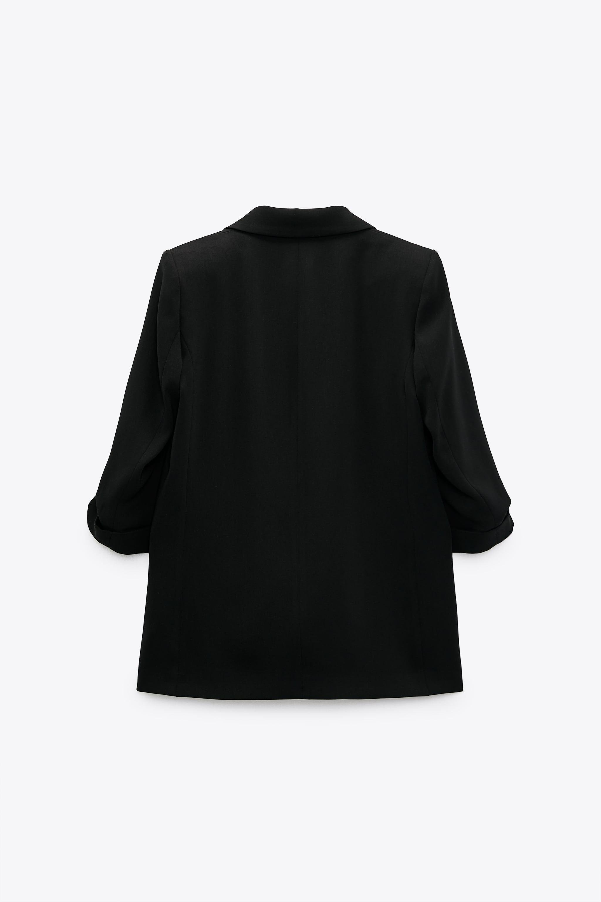 BLAZER WITH ROLLED-UP SLEEVES 2