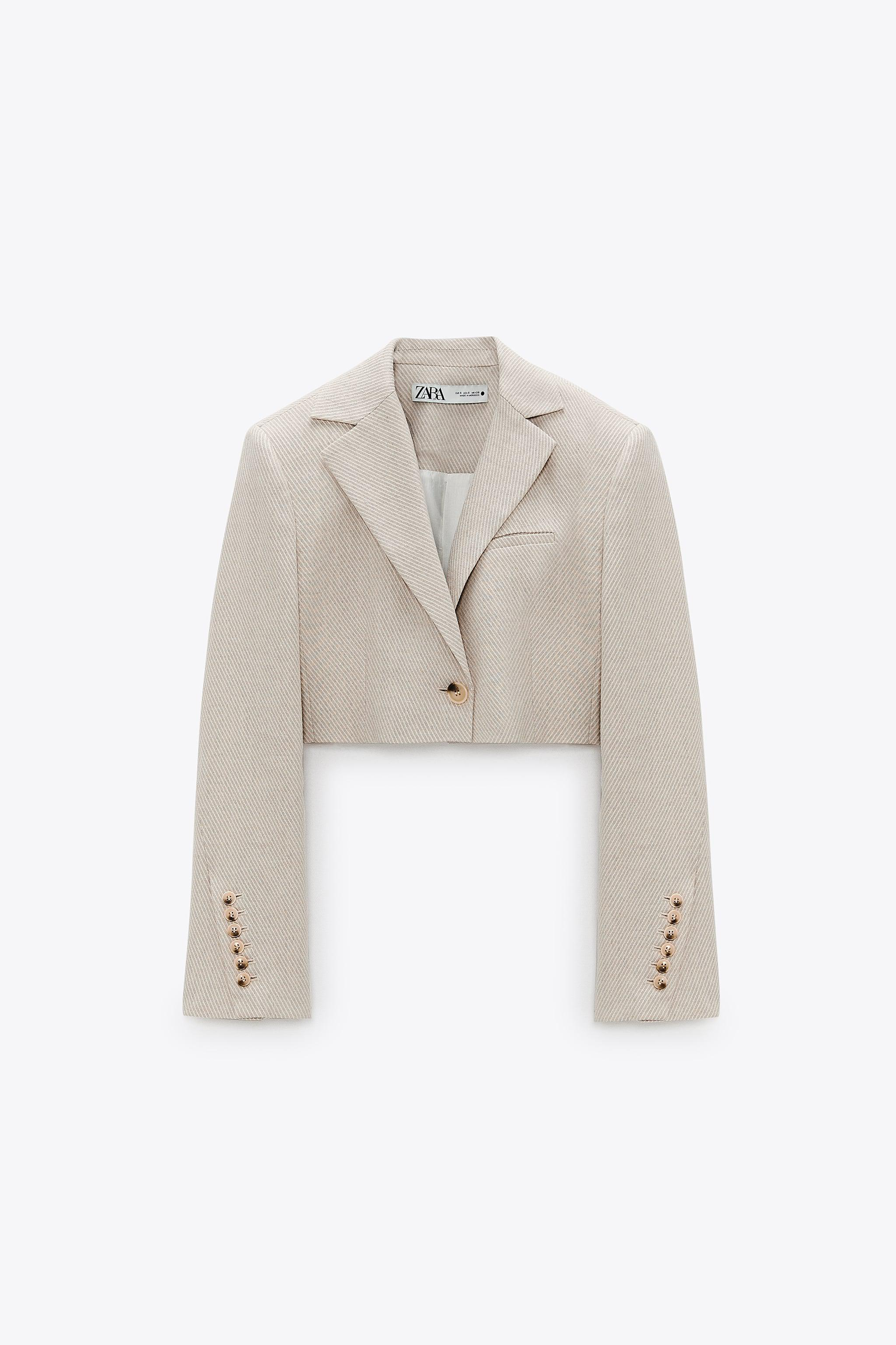 LIMITED EDITION CROPPED BLAZER 4