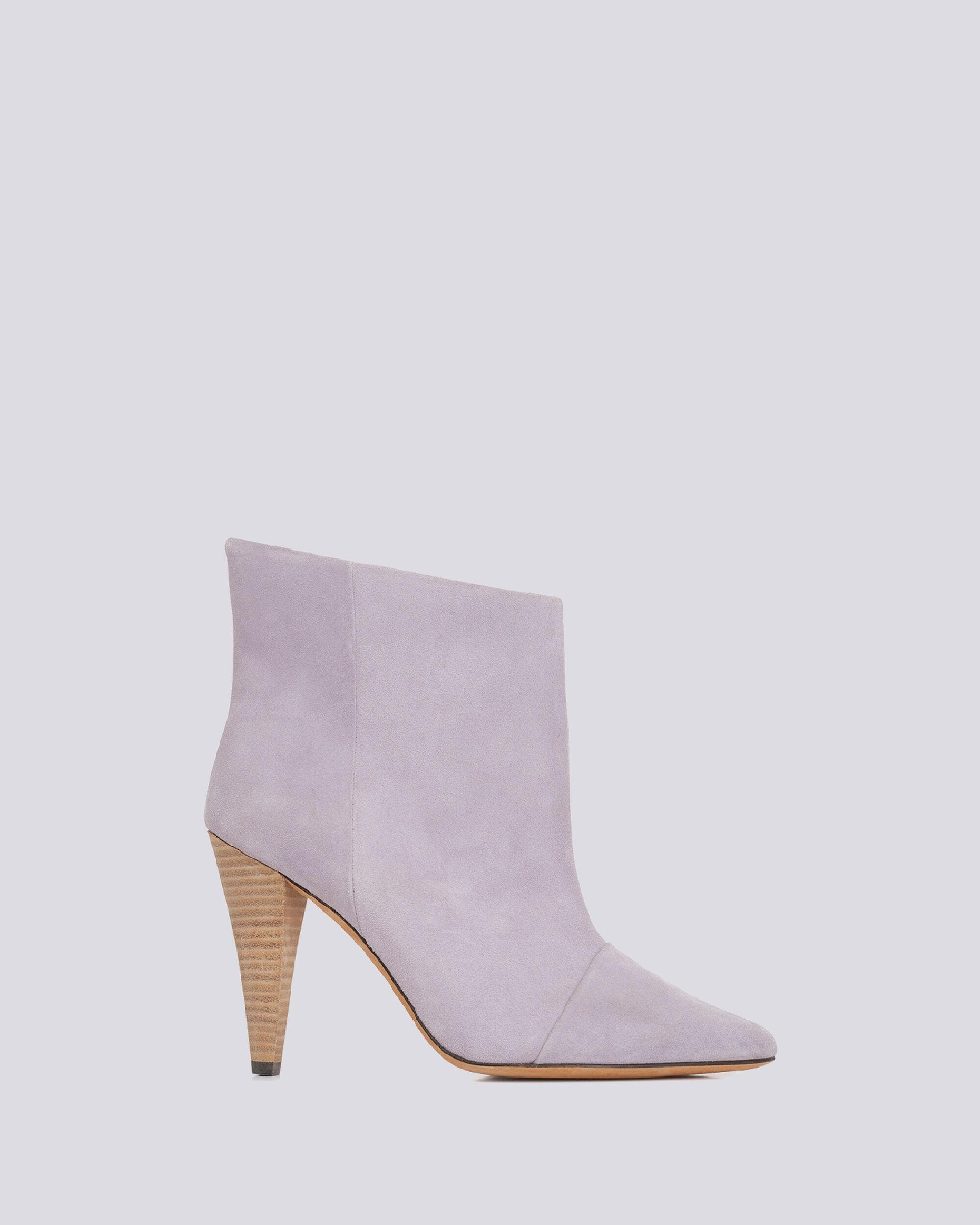 IMANOL POINTED TOE ANKLE SUEDE BOOTS 0