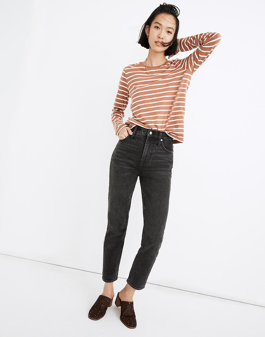 The Perfect Vintage Ankle Jean in Claybrook Wash