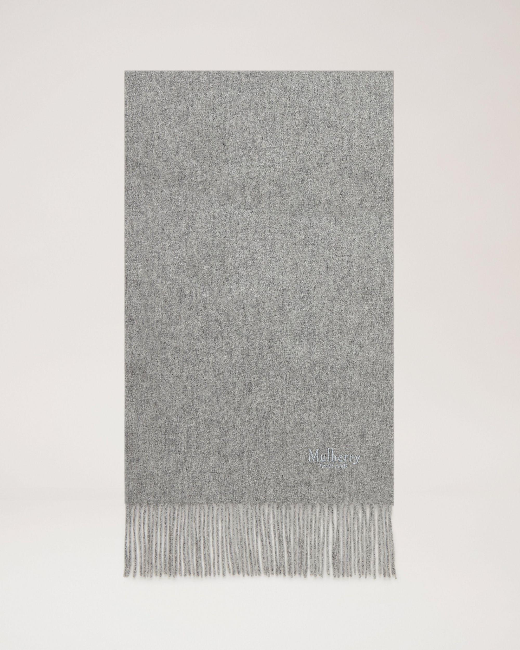 Small Solid Lambswool Scarf