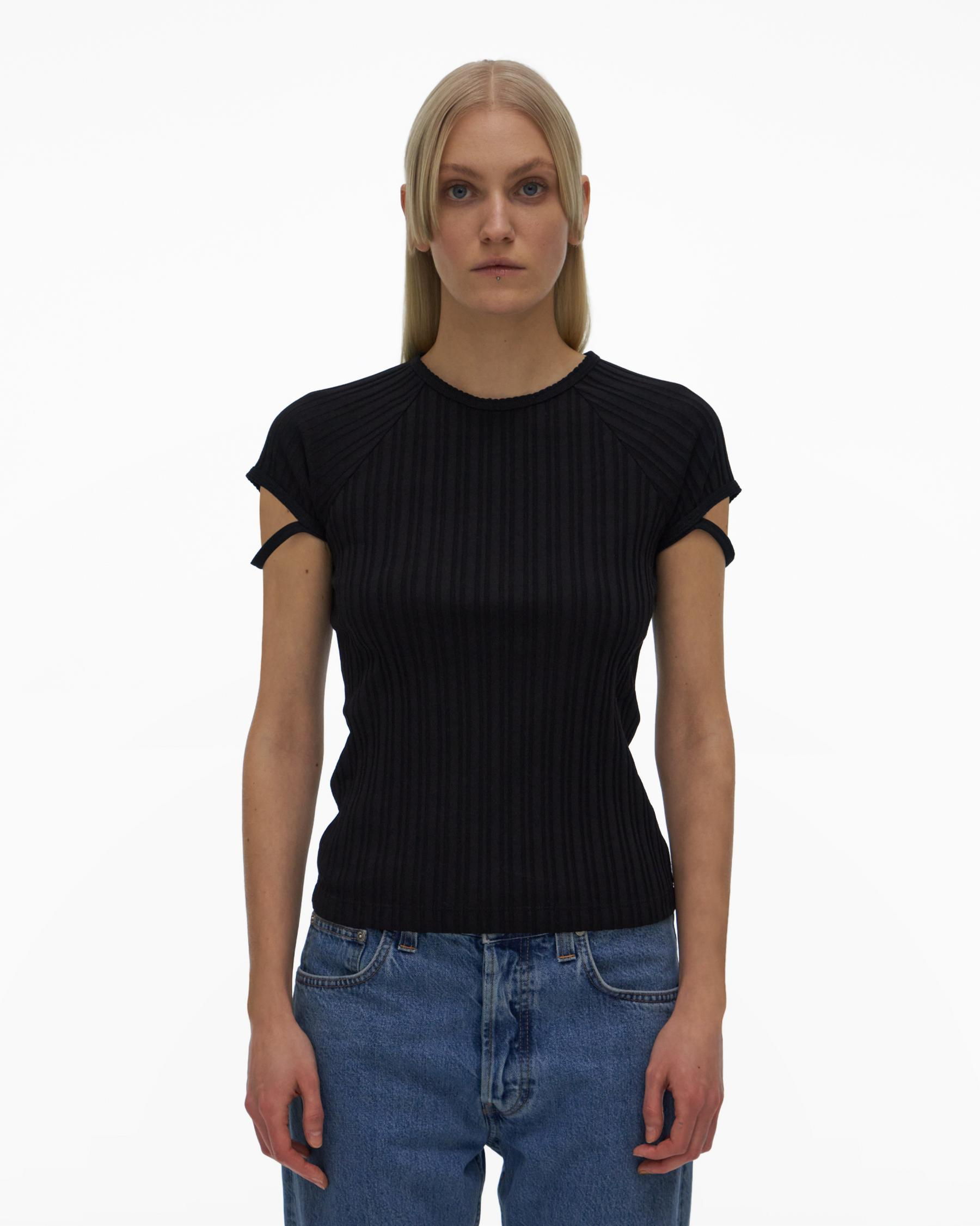 LITTLE RIBBED TEE 1