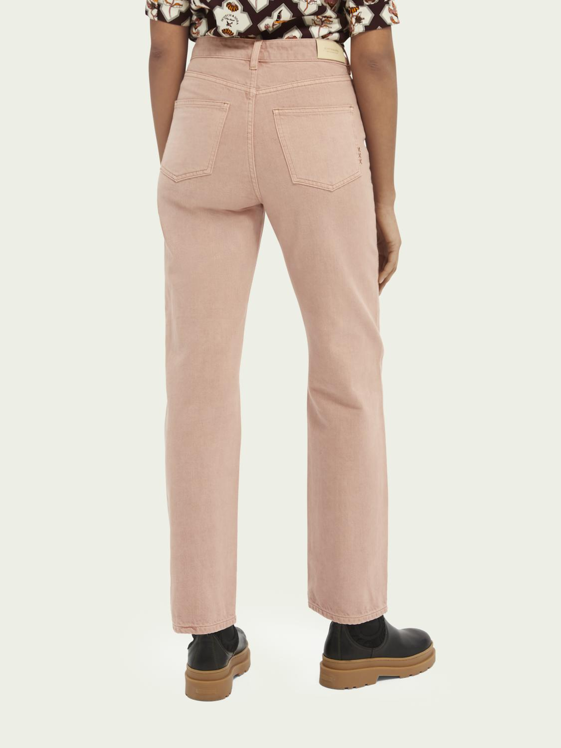 Tailored cotton jeans — Pastel Dyes 2