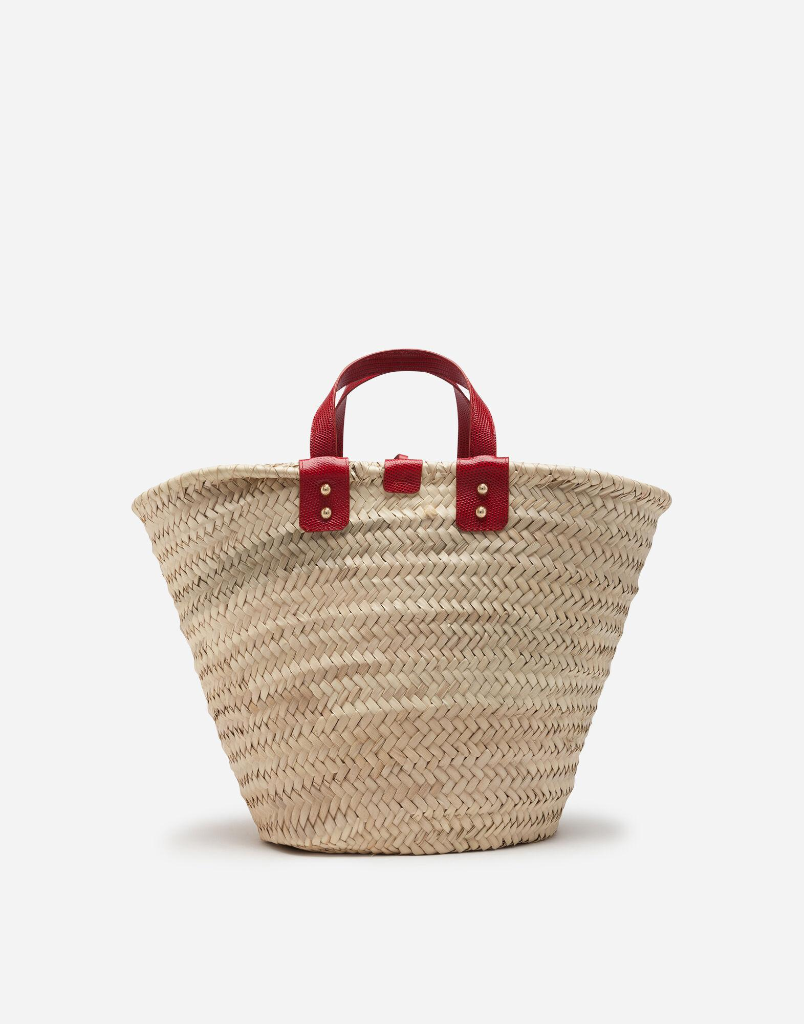 Kendra coffa bag in straw with thread embroidery 2