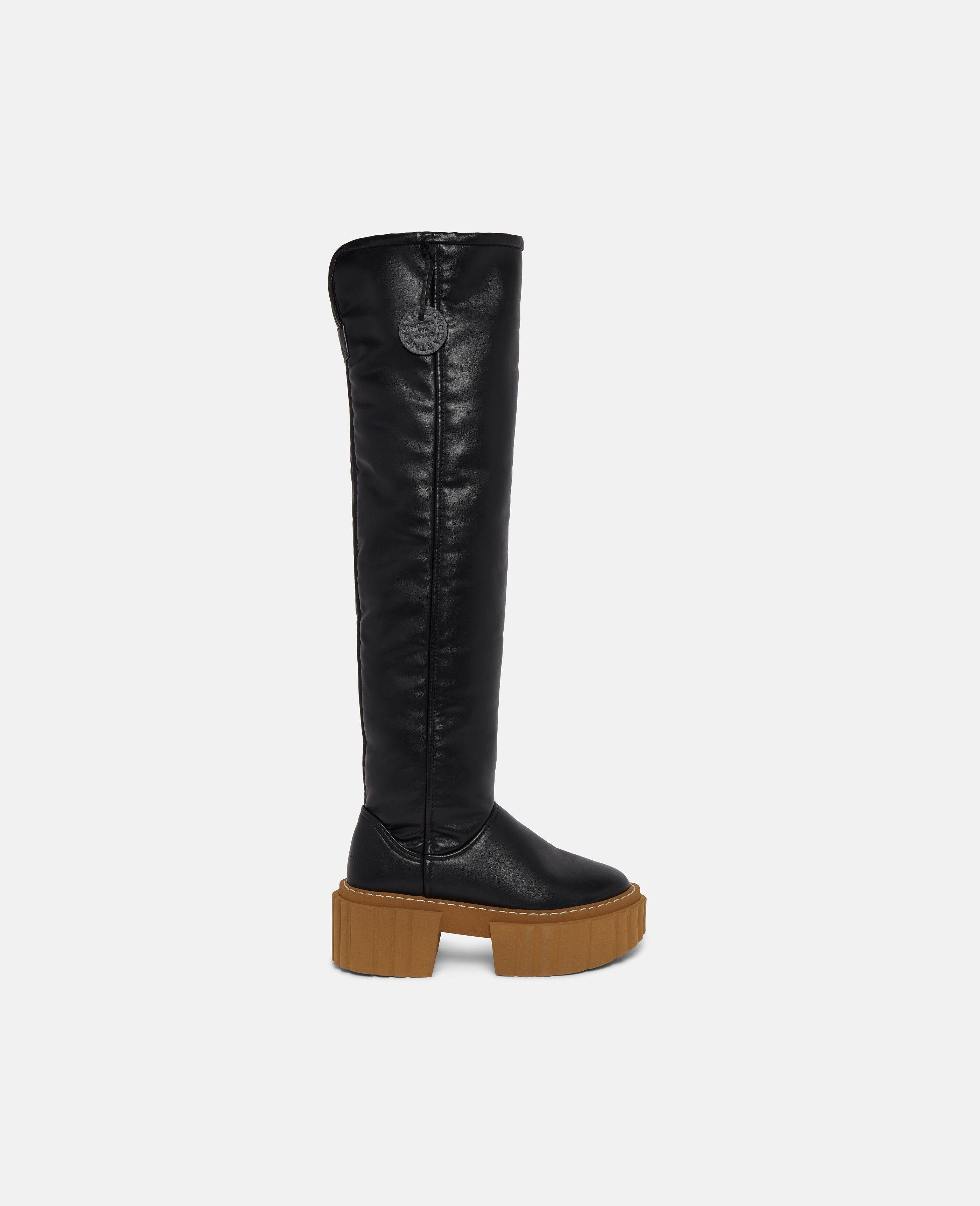 Over-The-Knee Emilie Teddy Boots